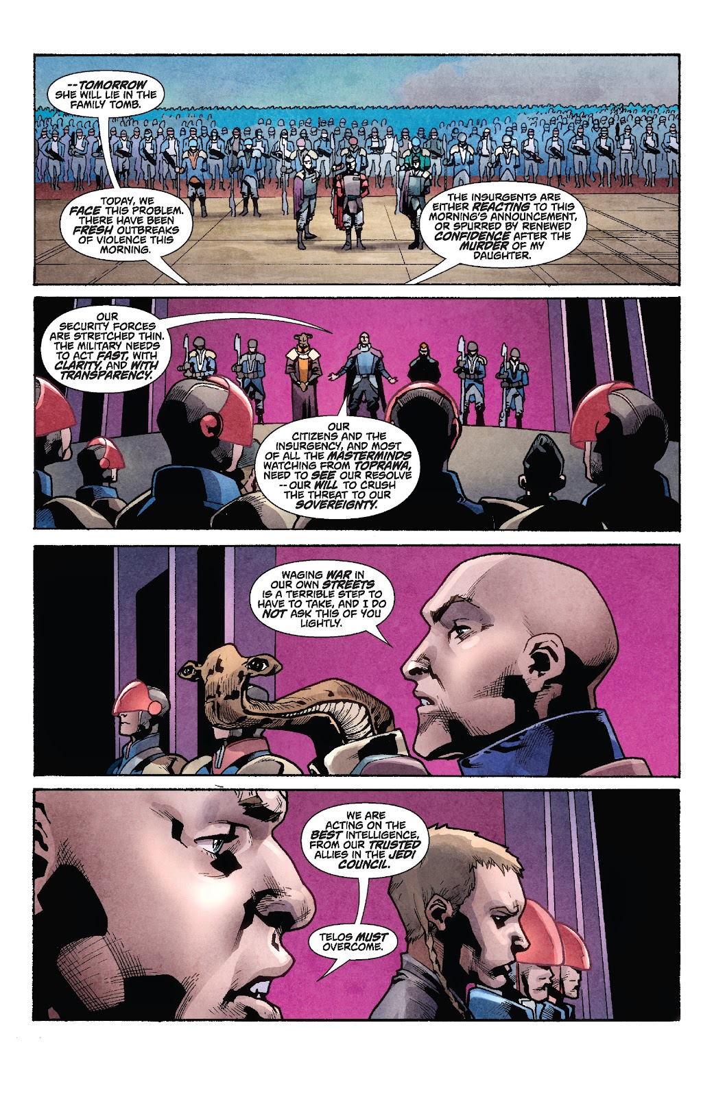 Read online Star Wars Legends: Rise of the Sith - Epic Collection comic -  Issue # TPB 1 (Part 2) - 75