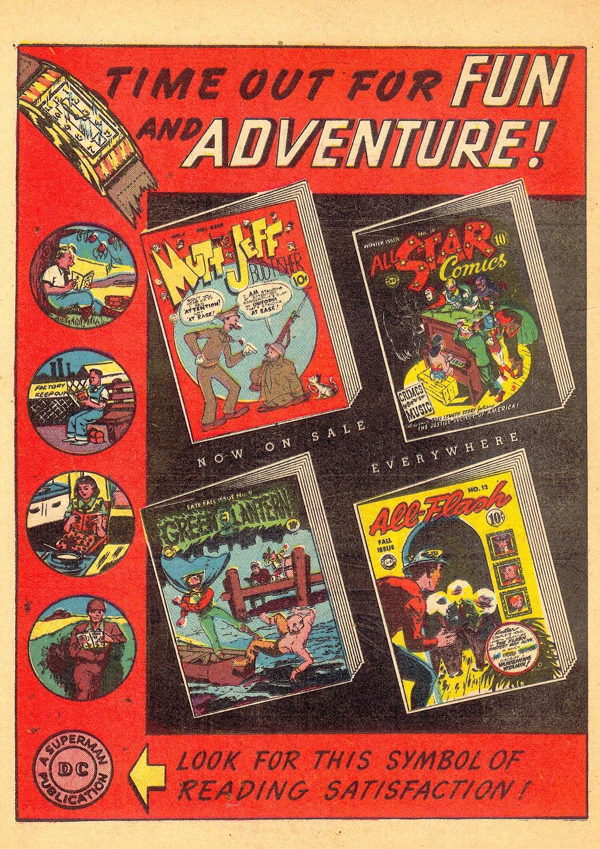 Read online Sensation (Mystery) Comics comic -  Issue #25 - 48
