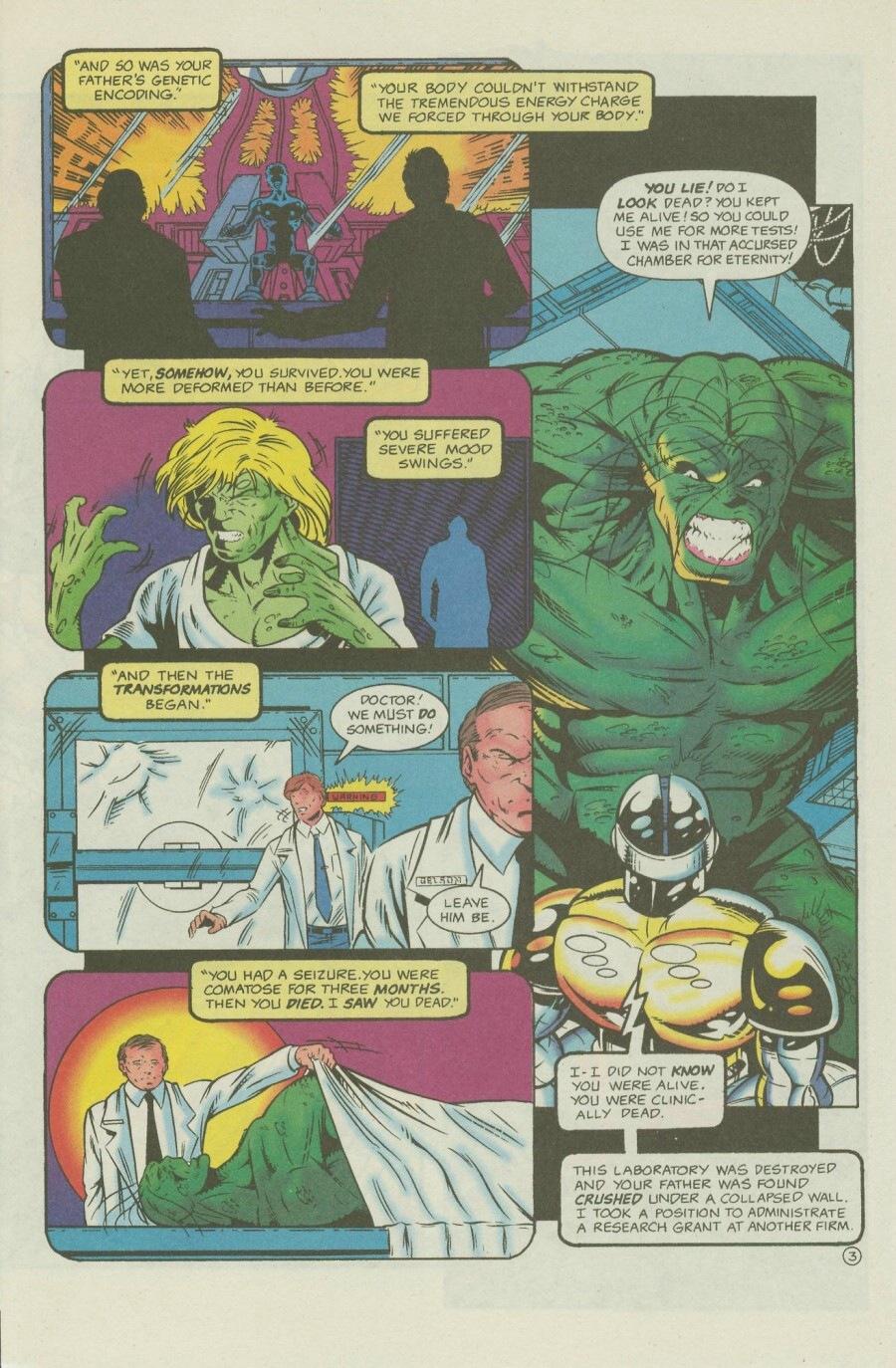 Read online Ex-Mutants comic -  Issue #7 - 5