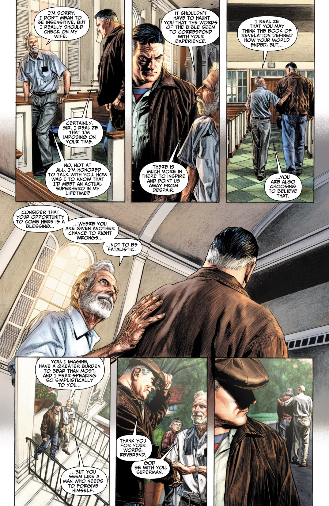 Read online JSA Kingdom Come Special: Superman comic -  Issue # Full - 17