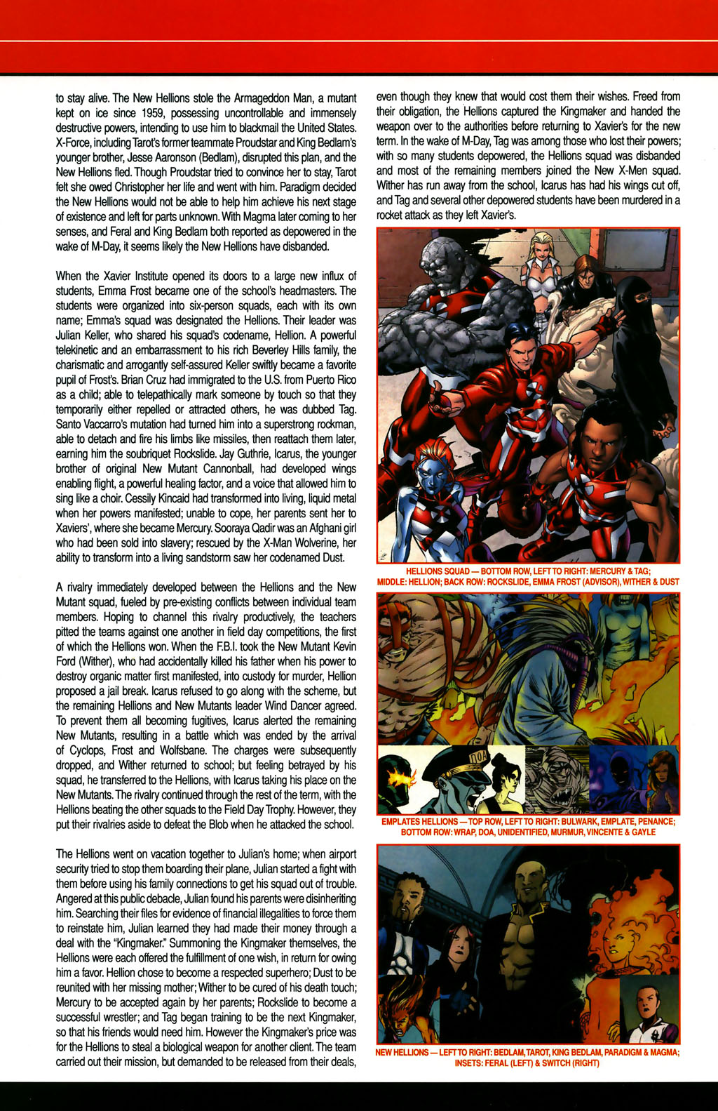 Read online All-New Official Handbook of the Marvel Universe A to Z comic -  Issue #5 - 24