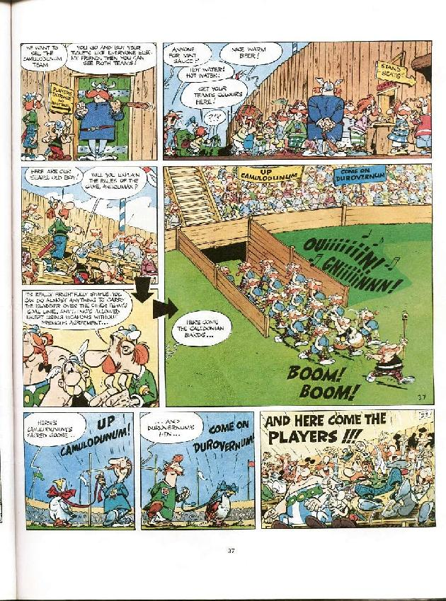 Read online Asterix comic -  Issue #8 - 34