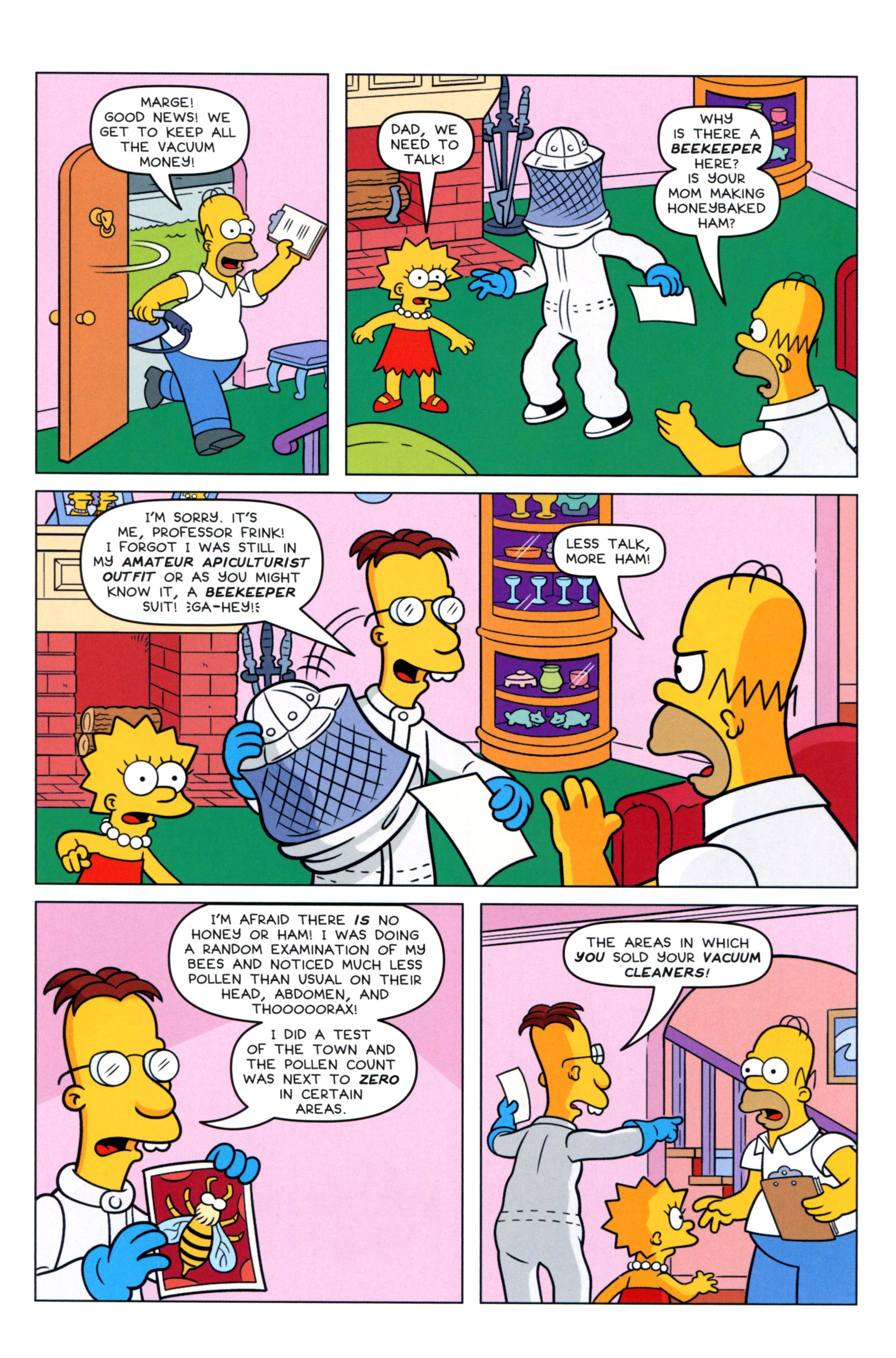 Read online Simpsons Comics comic -  Issue #217 - 22