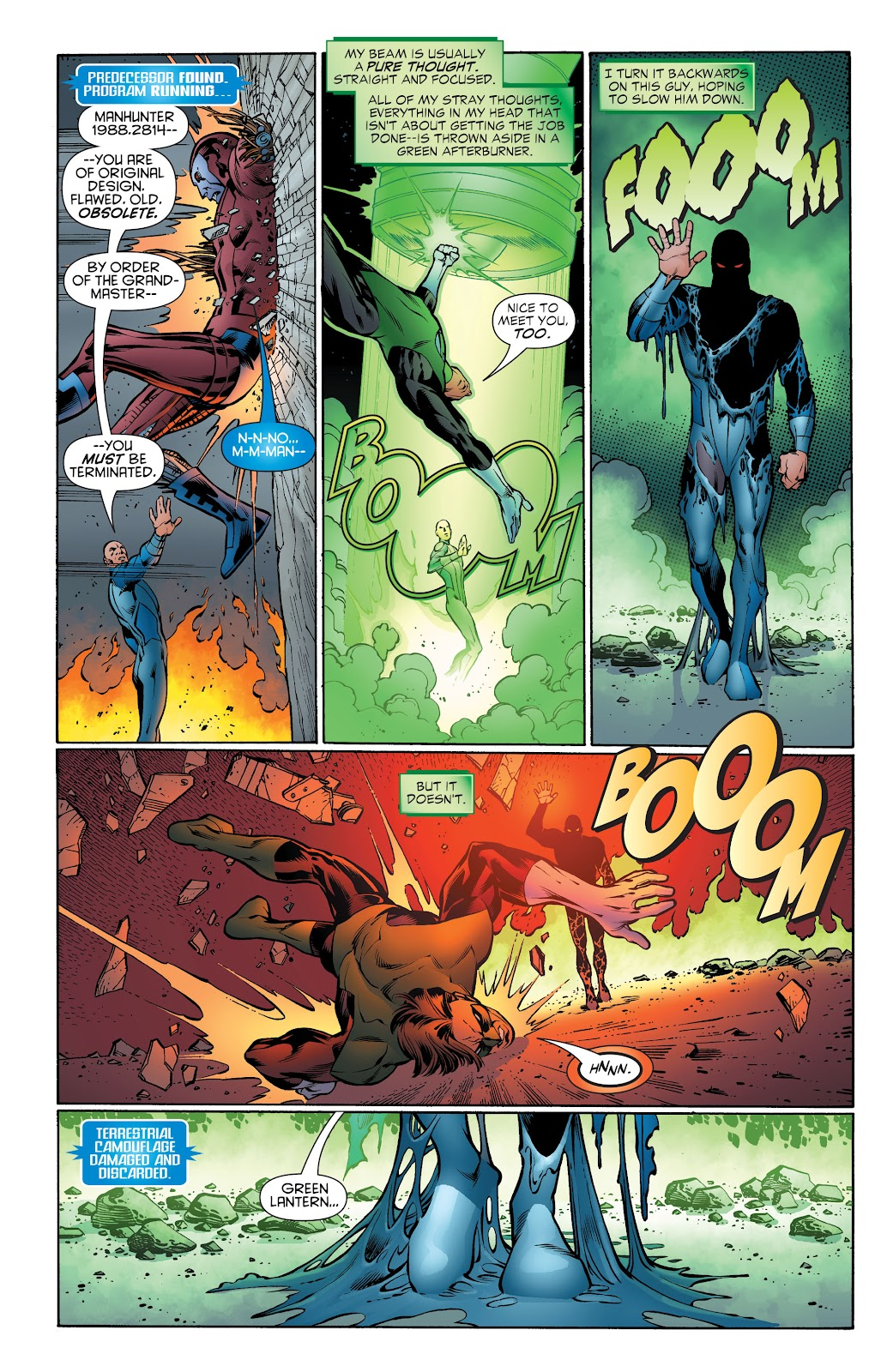 Read online Green Lantern by Geoff Johns comic -  Issue # TPB 1 (Part 4) - 44