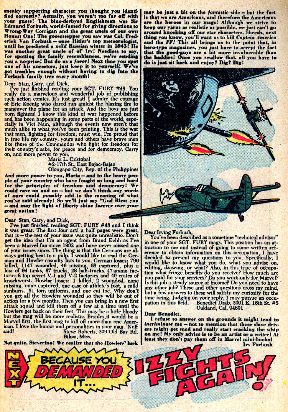 Read online Sgt. Fury comic -  Issue #53 - 33