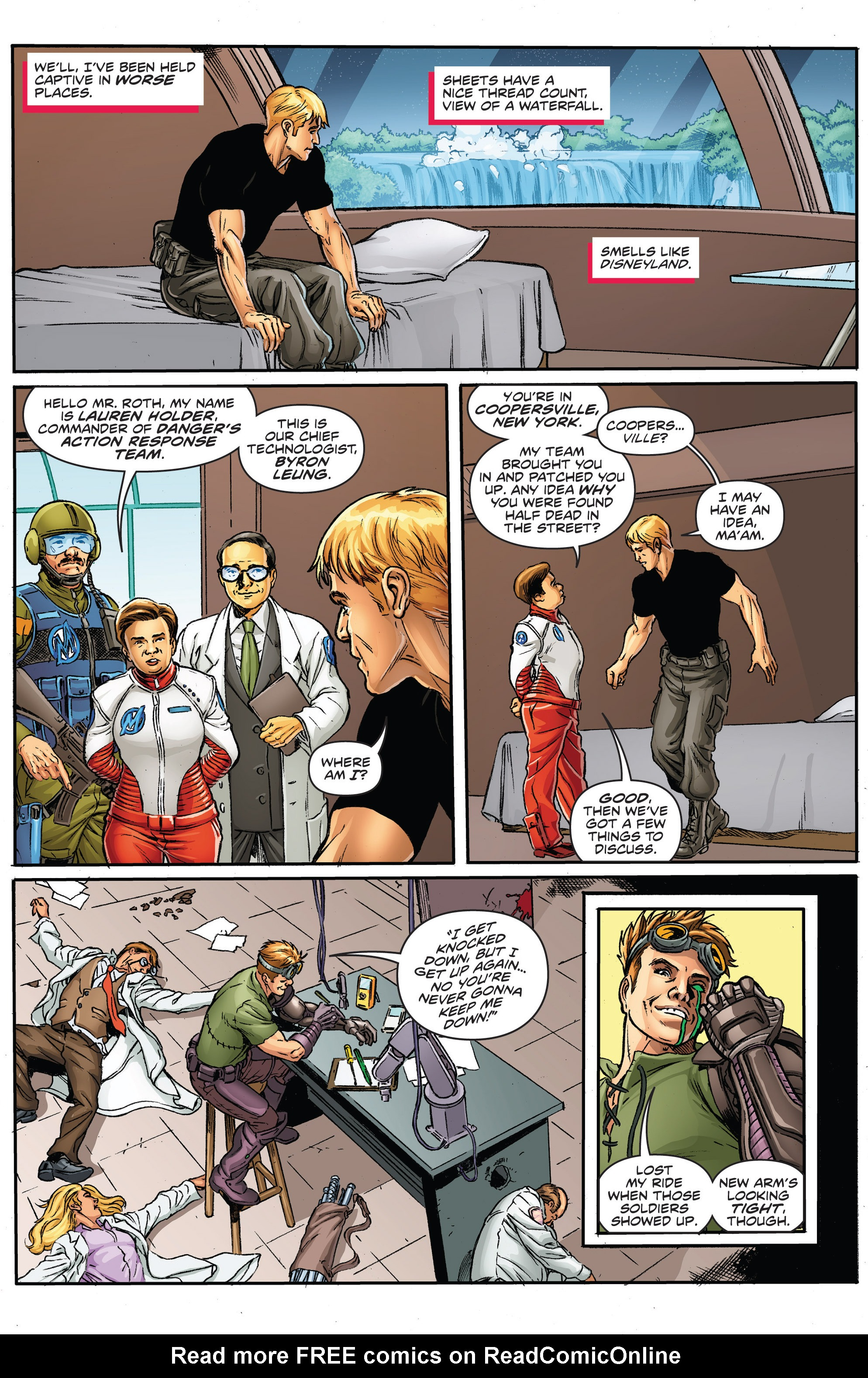 Read online Actionverse comic -  Issue #2 - 6