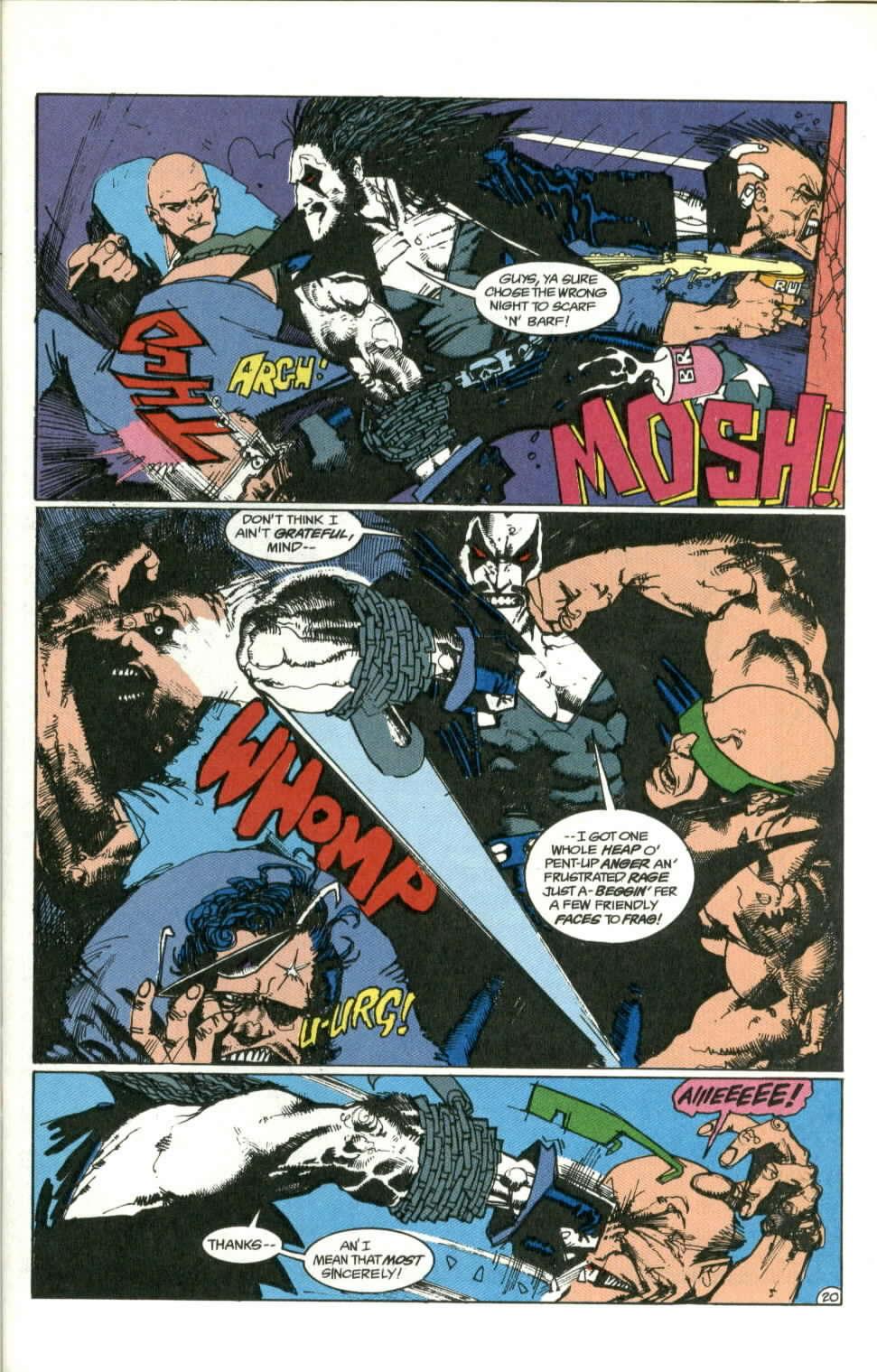 Read online Lobo (1990) comic -  Issue #1 - 21