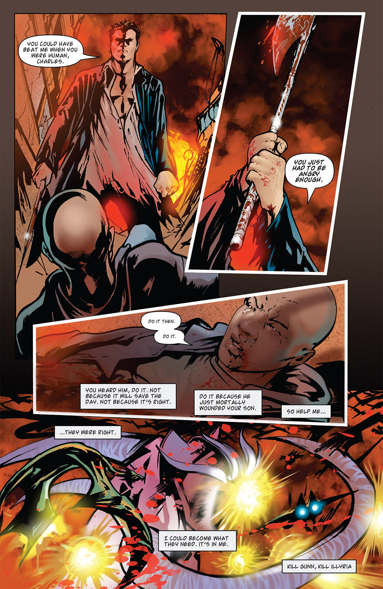 Read online Angel: After The Fall comic -  Issue #15 - 18