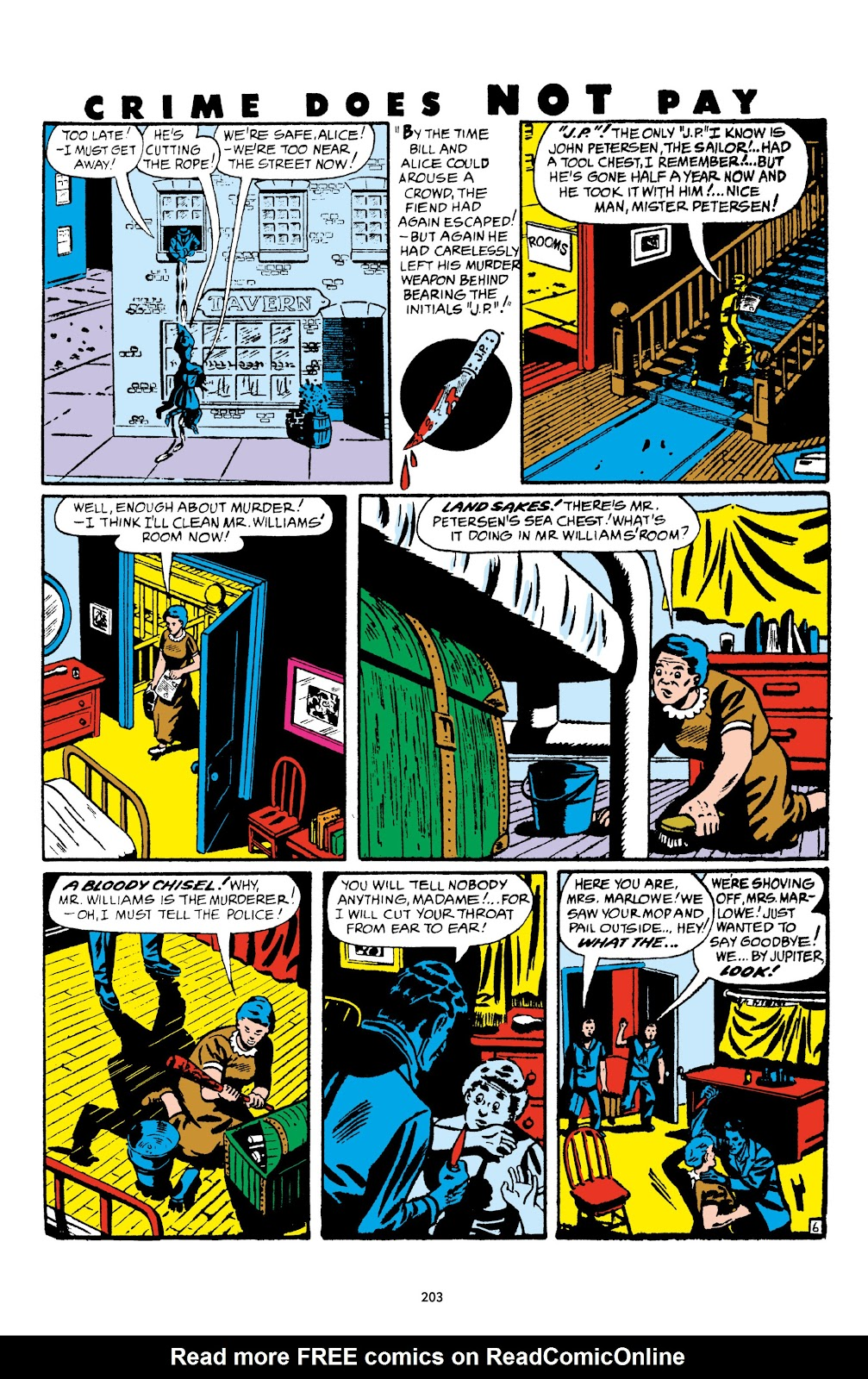 Read online Crime Does Not Pay Archives comic -  Issue # TPB 5 (Part 3) - 3