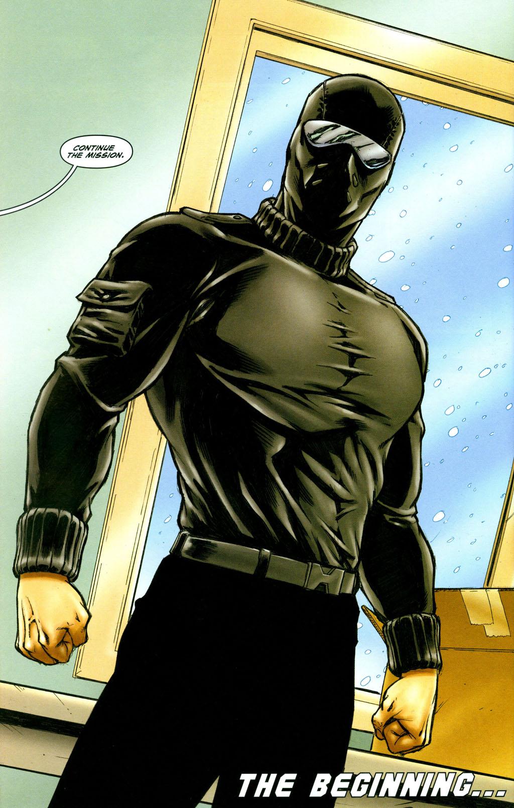 Read online Snake Eyes: Declassified comic -  Issue #6 - 25