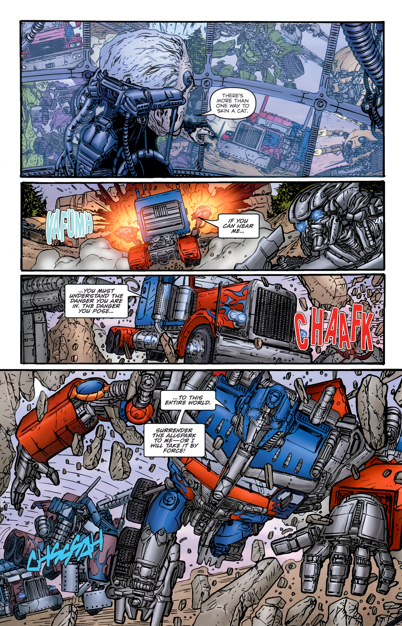 Read online Transformers: Nefarious comic -  Issue #6 - 14