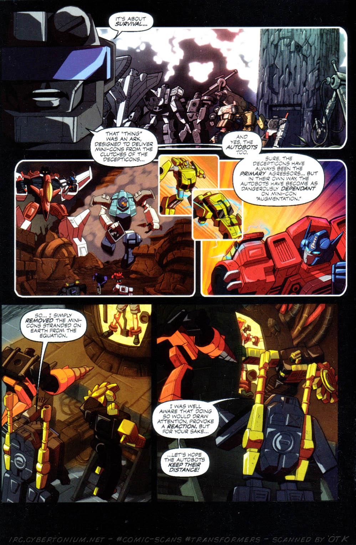 Read online Transformers Armada comic -  Issue #10 - 6