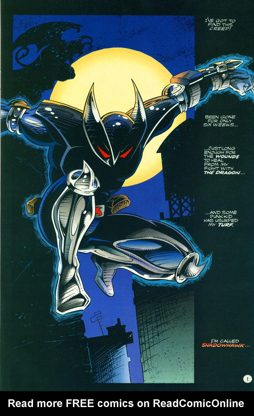 Read online ShadowHawk comic -  Issue #5 - 4