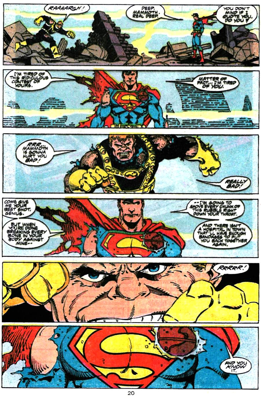 Read online Adventures of Superman (1987) comic -  Issue #472 - 21