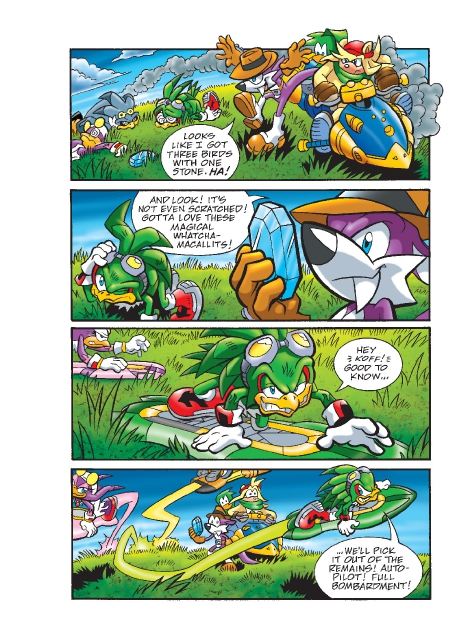 Read online Sonic Comics Spectacular: Speed of Sound comic -  Issue # Full - 185
