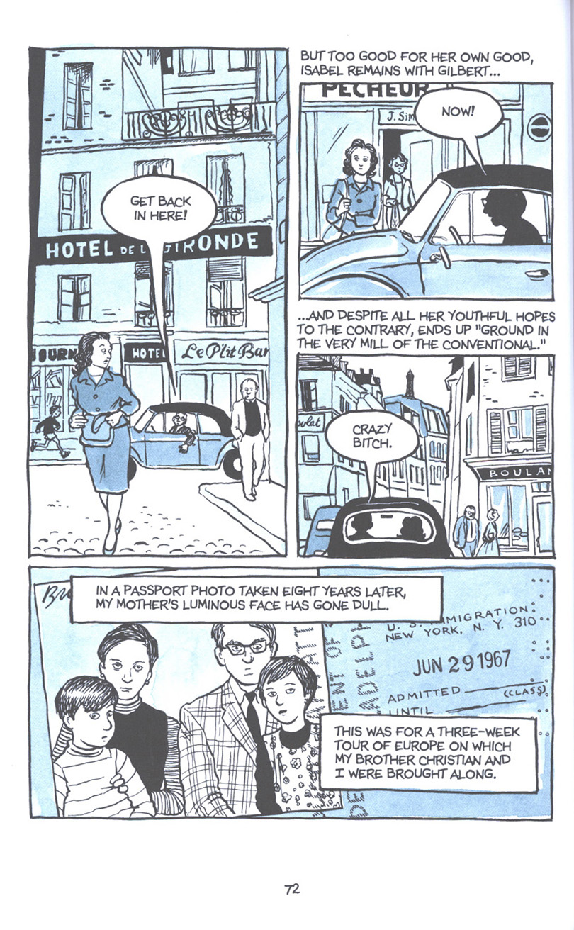 Read online Fun Home: A Family Tragicomic comic -  Issue # TPB - 79