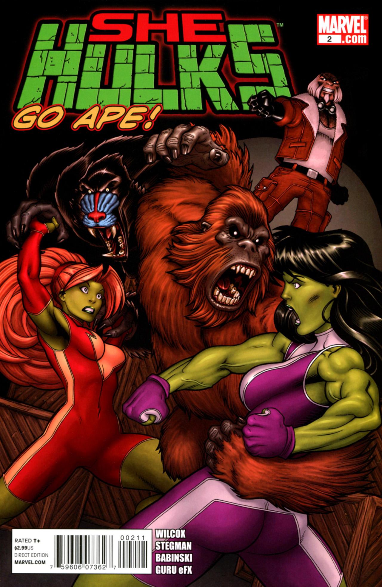 Read online She-Hulks comic -  Issue #2 - 1