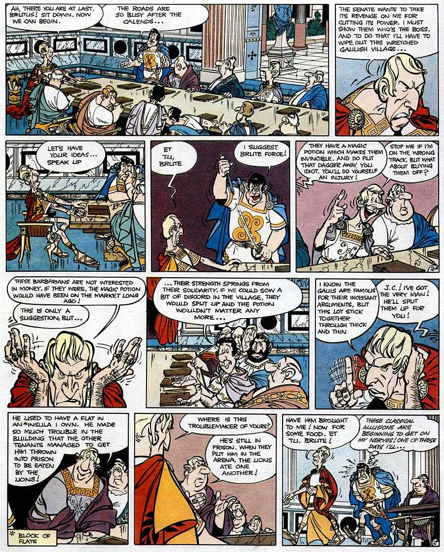 Read online Asterix comic -  Issue #15 - 7