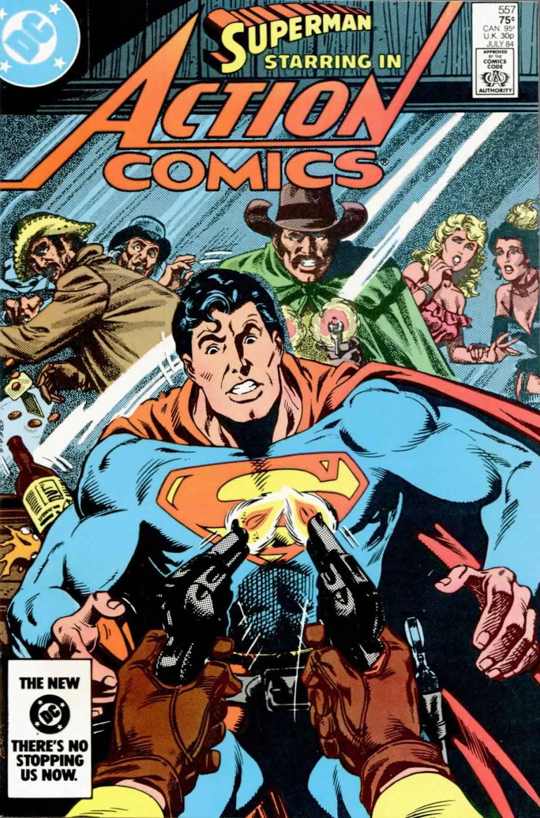 Action Comics (1938) 557 Page 1