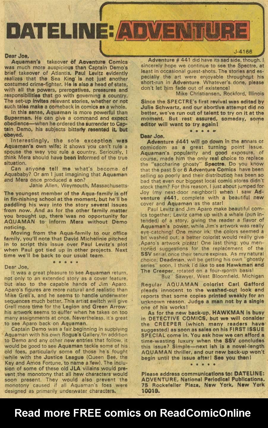 Read online Adventure Comics (1938) comic -  Issue #443 - 12
