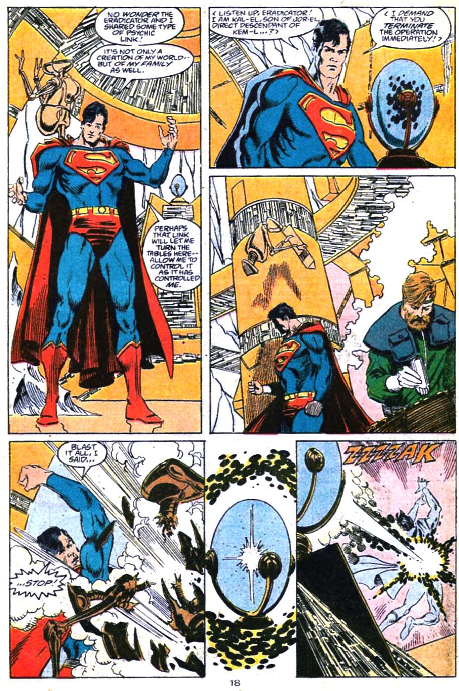 Read online Adventures of Superman (1987) comic -  Issue #460 - 19