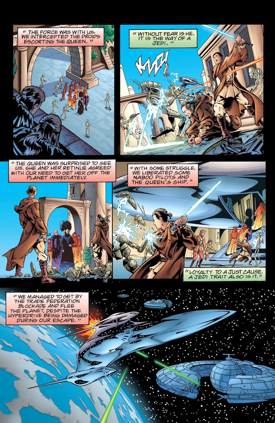 Read online Star Wars Legends: Rise of the Sith - Epic Collection comic -  Issue # TPB 2 (Part 5) - 33
