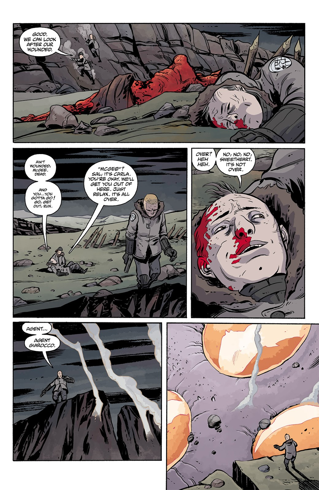 Read online B.P.R.D. Hell on Earth: The Return of the Master comic -  Issue #5 - 11