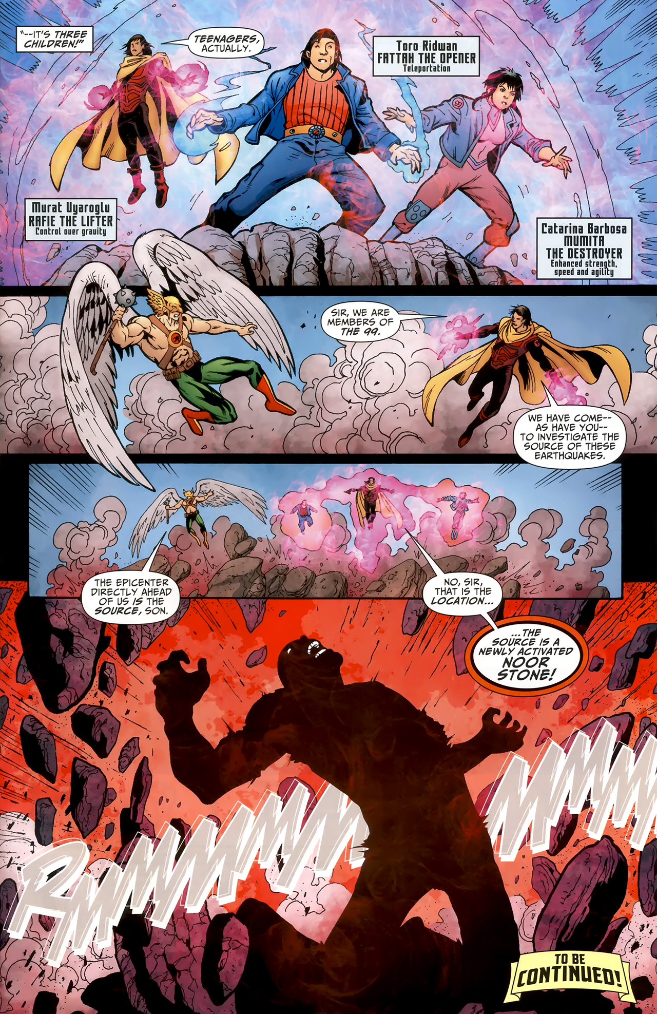 Justice League of America/The 99 1 Page 23