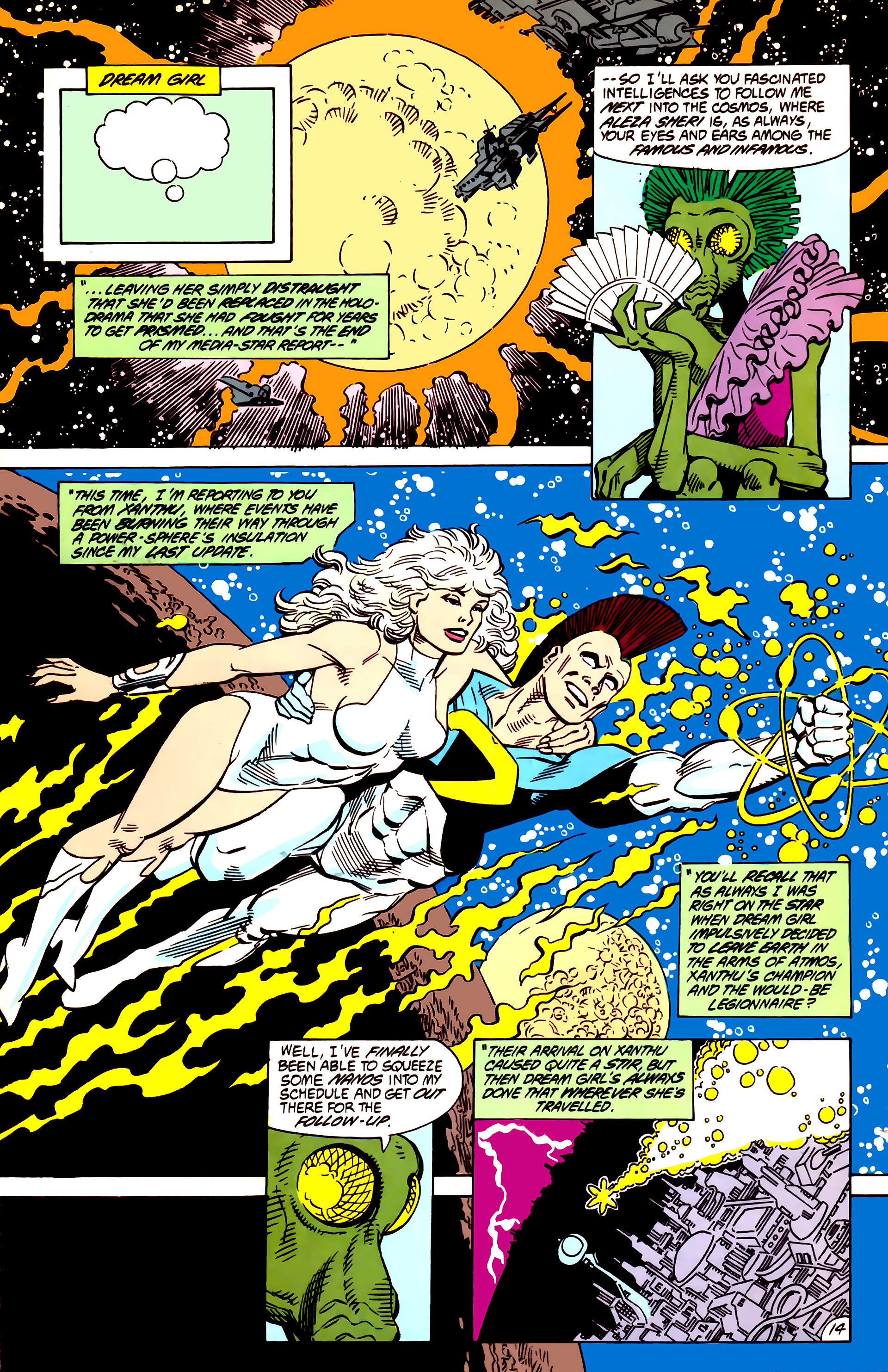Legion of Super-Heroes (1984) 55 Page 14