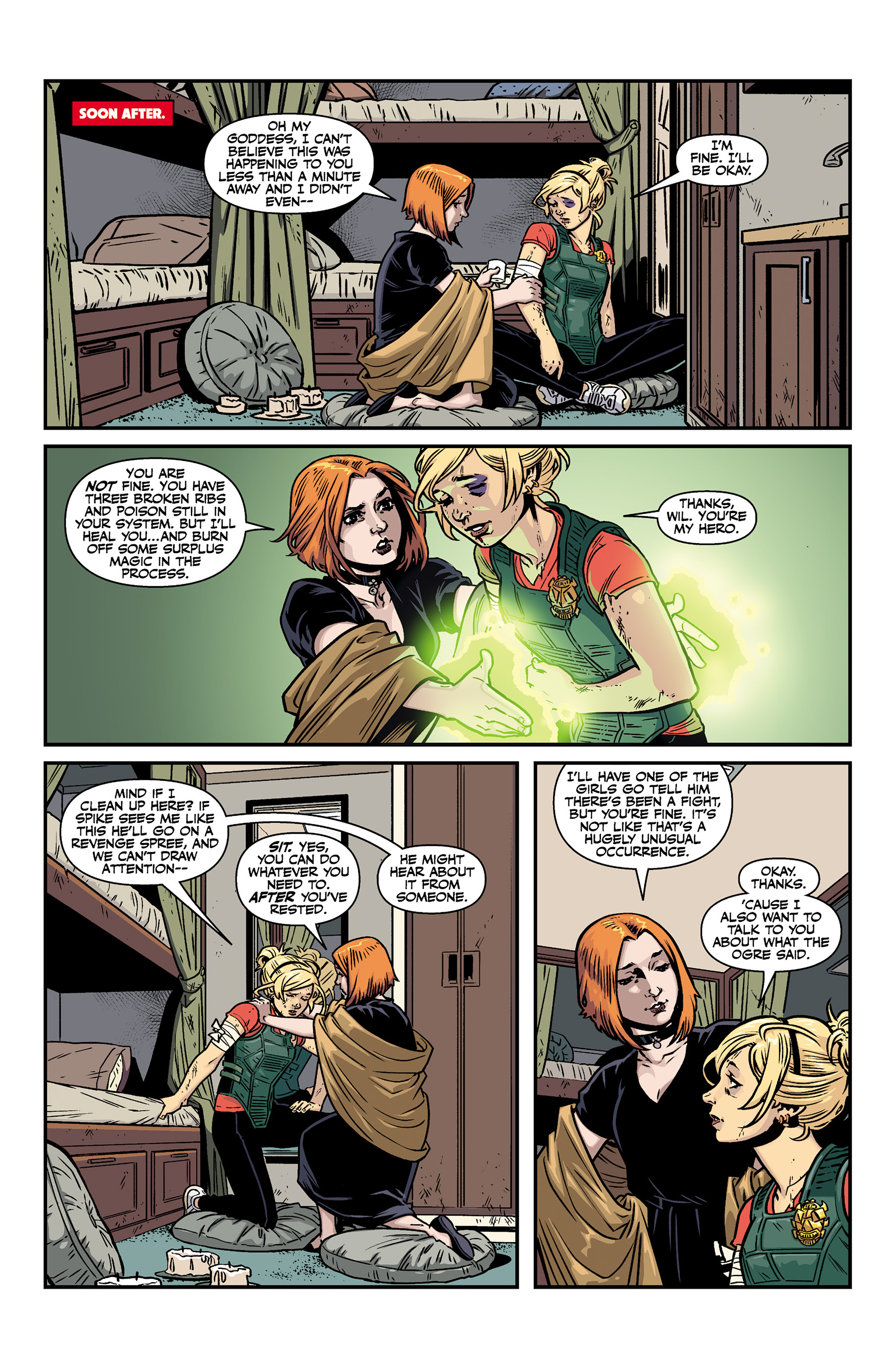 Read online Buffy the Vampire Slayer Season 11 comic -  Issue #6 - 14