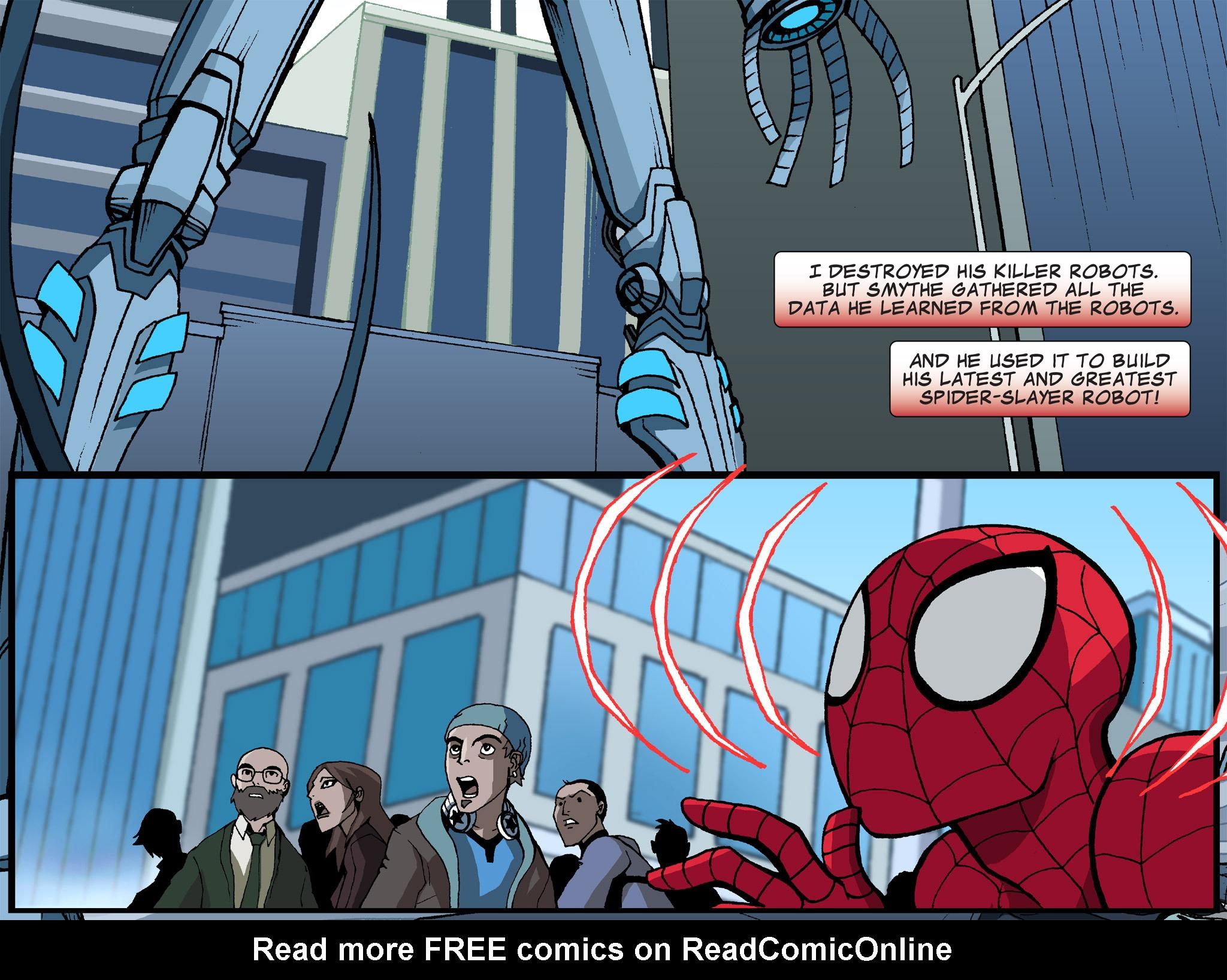 Read online Ultimate Spider-Man (Infinite Comics) (2015) comic -  Issue #6 - 7