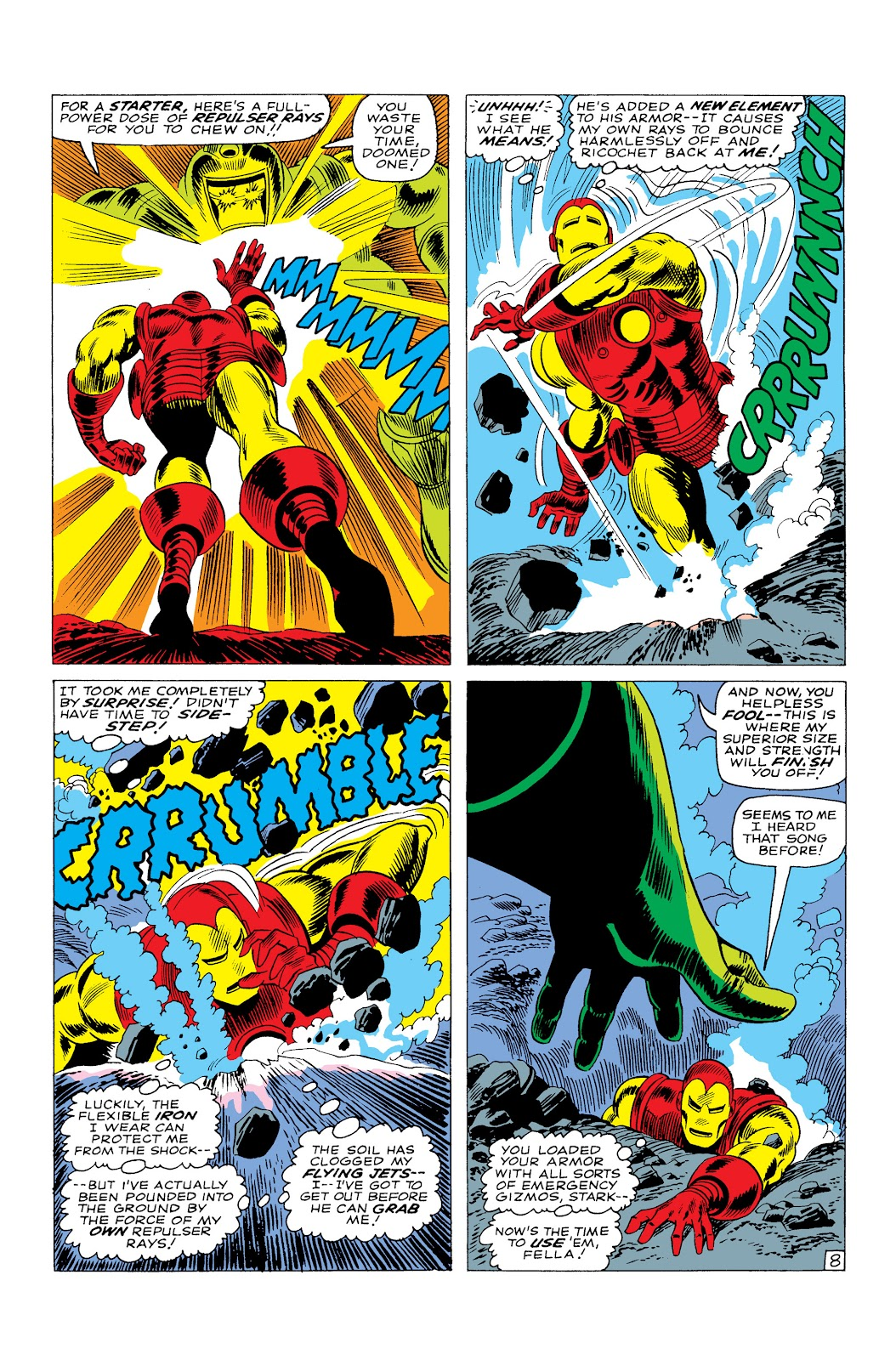 Read online Marvel Masterworks: The Invincible Iron Man comic -  Issue # TPB 3 (Part 4) - 79