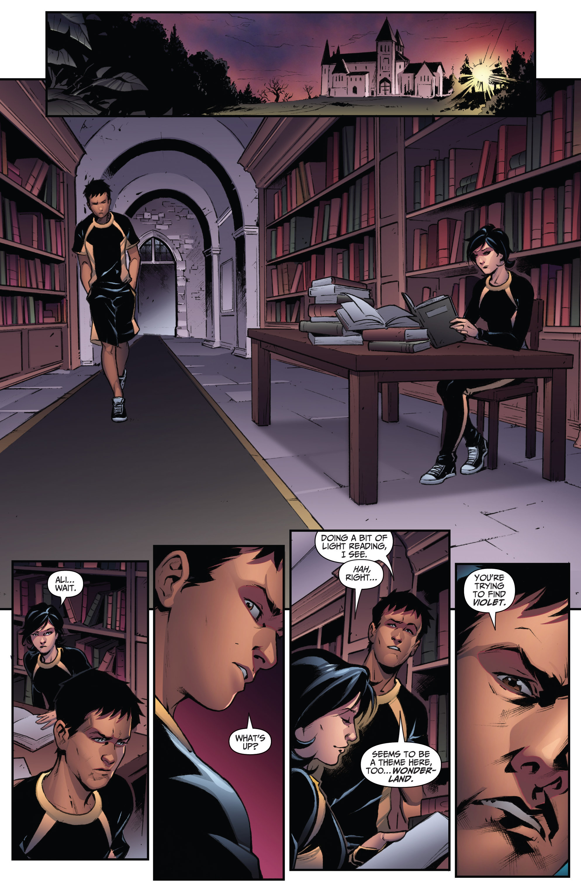 Read online Grimm Fairy Tales: Arcane Acre comic -  Issue # TPB 3 - 23