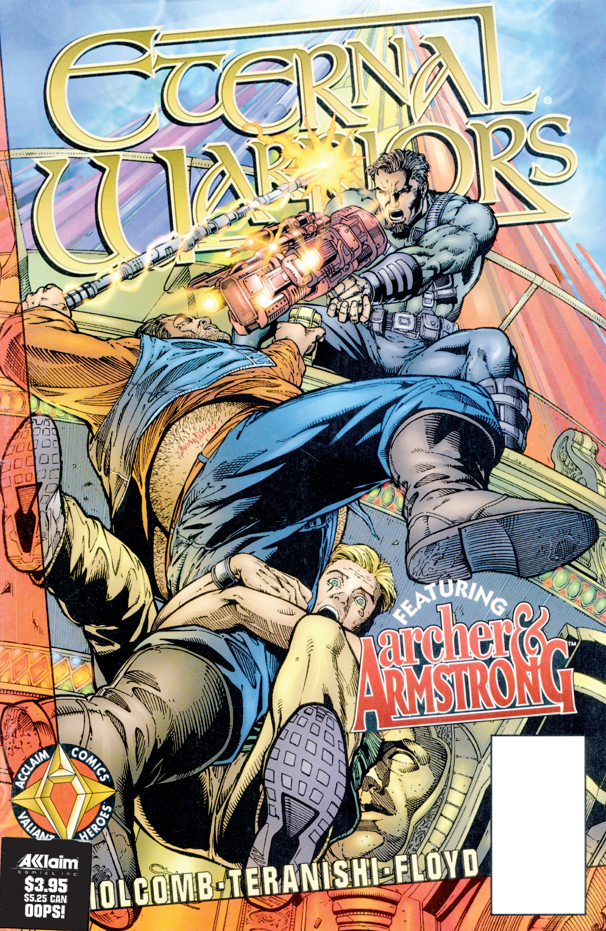 Read online Eternal Warriors comic -  Issue # Issue Archer & Armstrong - 1