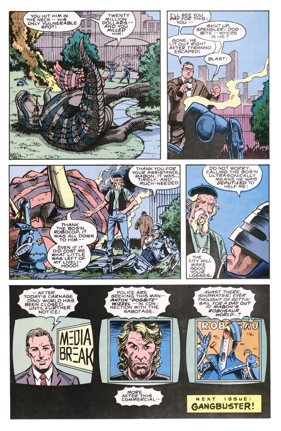 Read online Robocop (1990) comic -  Issue #7 - 23