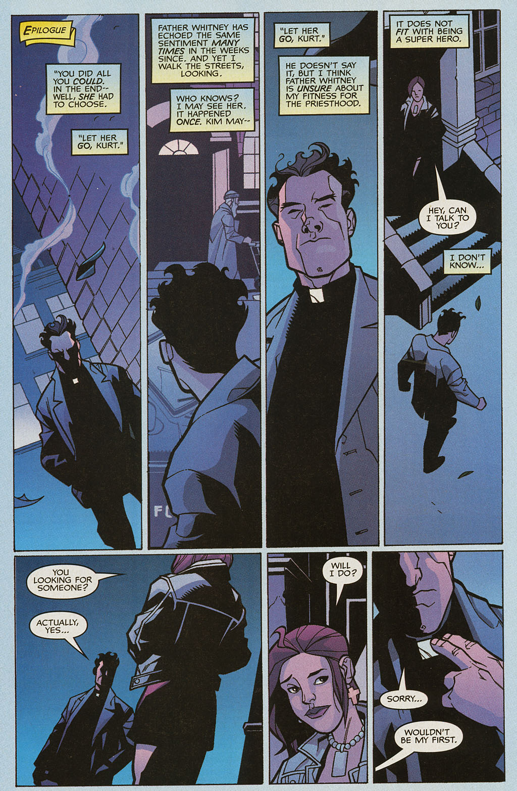 Read online Nightcrawler (2002) comic -  Issue #4 - 23