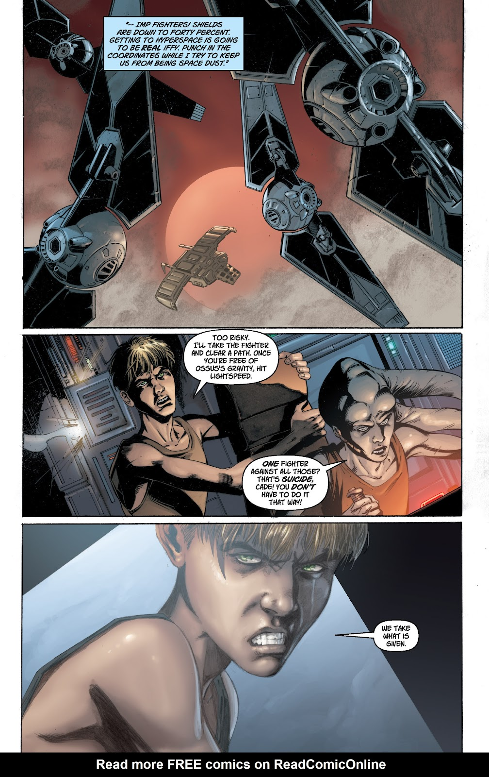 Read online Star Wars Legends: Legacy - Epic Collection comic -  Issue # TPB 1 (Part 1) - 17