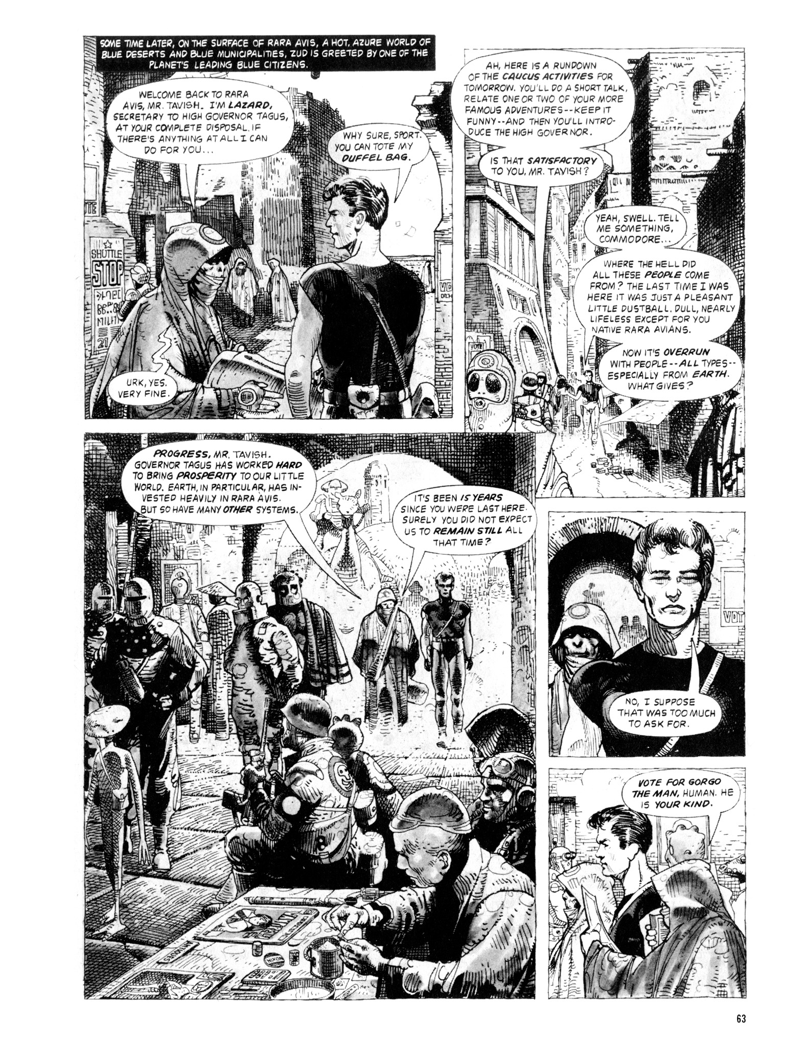 Read online Eerie Archives comic -  Issue # TPB 20 - 63