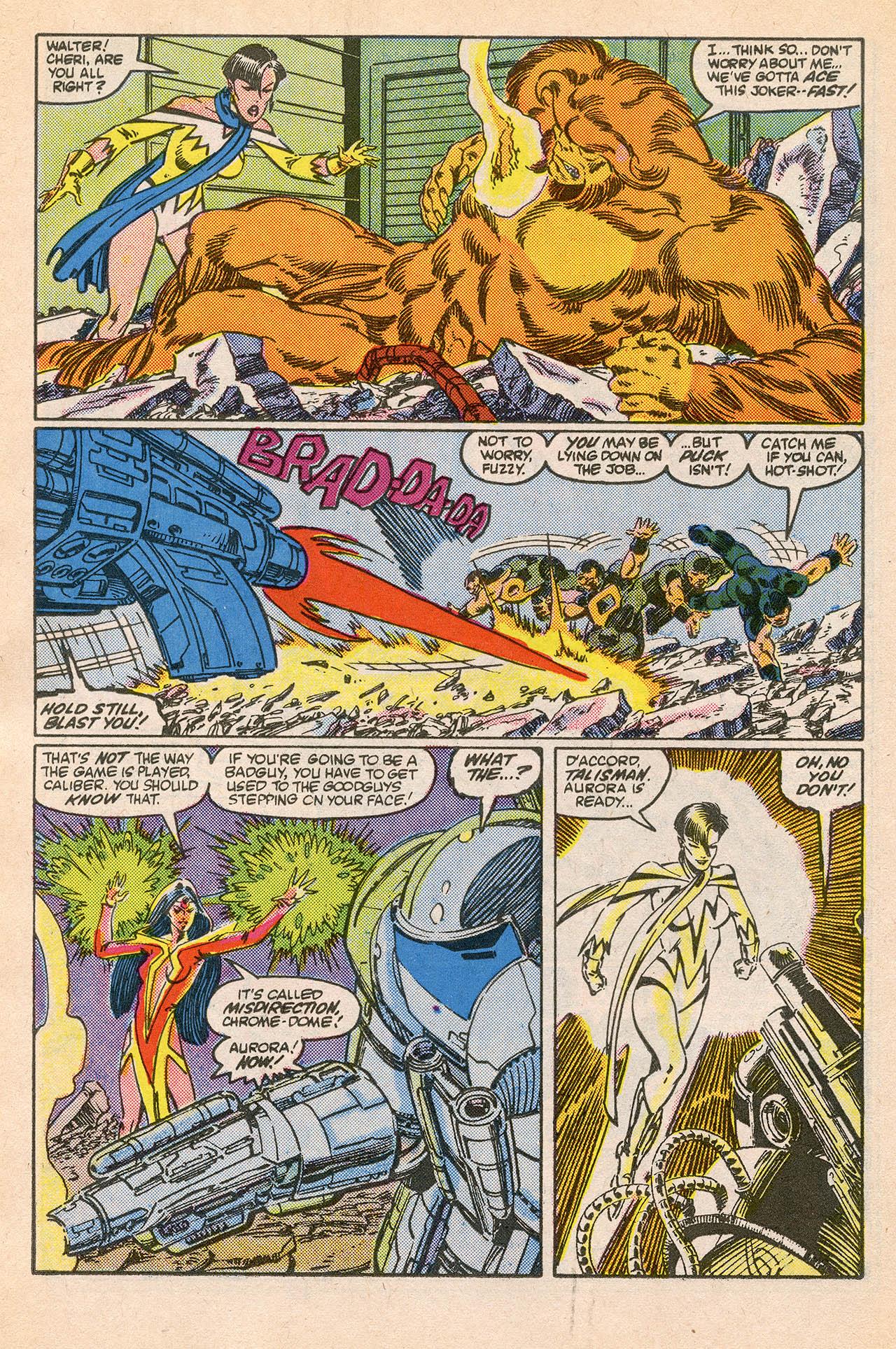 Read online Alpha Flight (1983) comic -  Issue #23 - 16