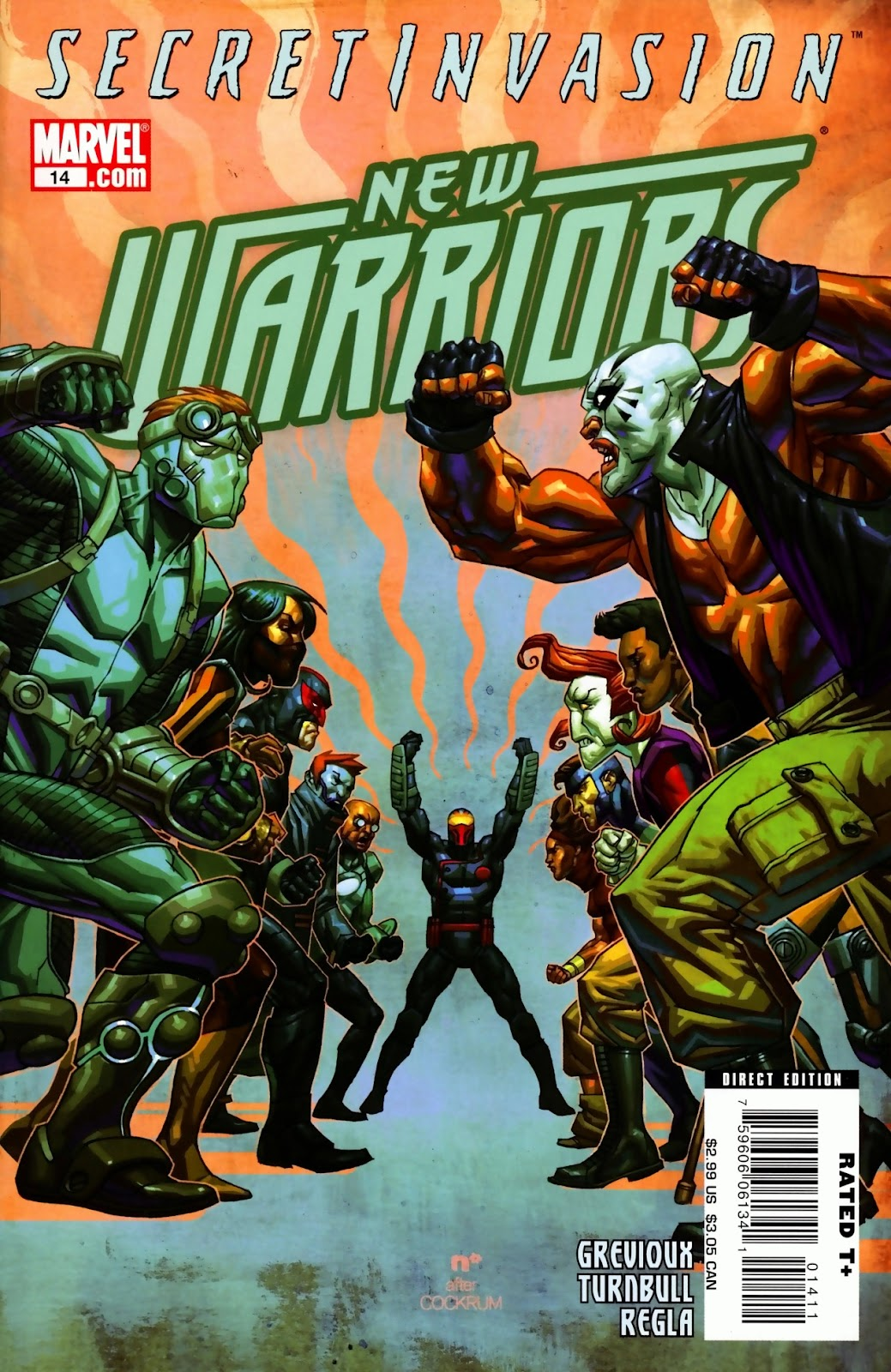 New Warriors (2007) issue 14 - Page 1