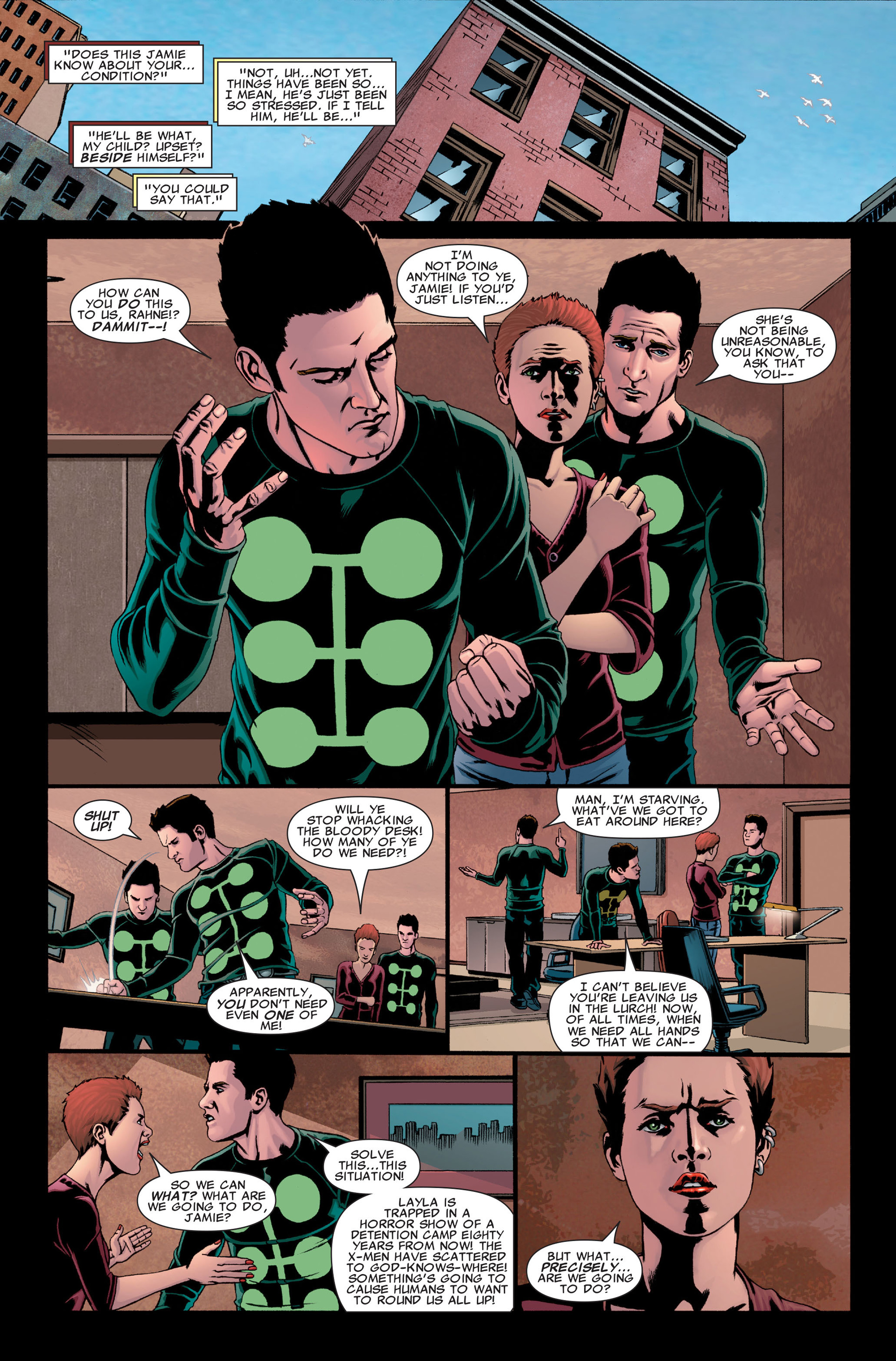 Read online X-Factor (2006) comic -  Issue #28 - 4