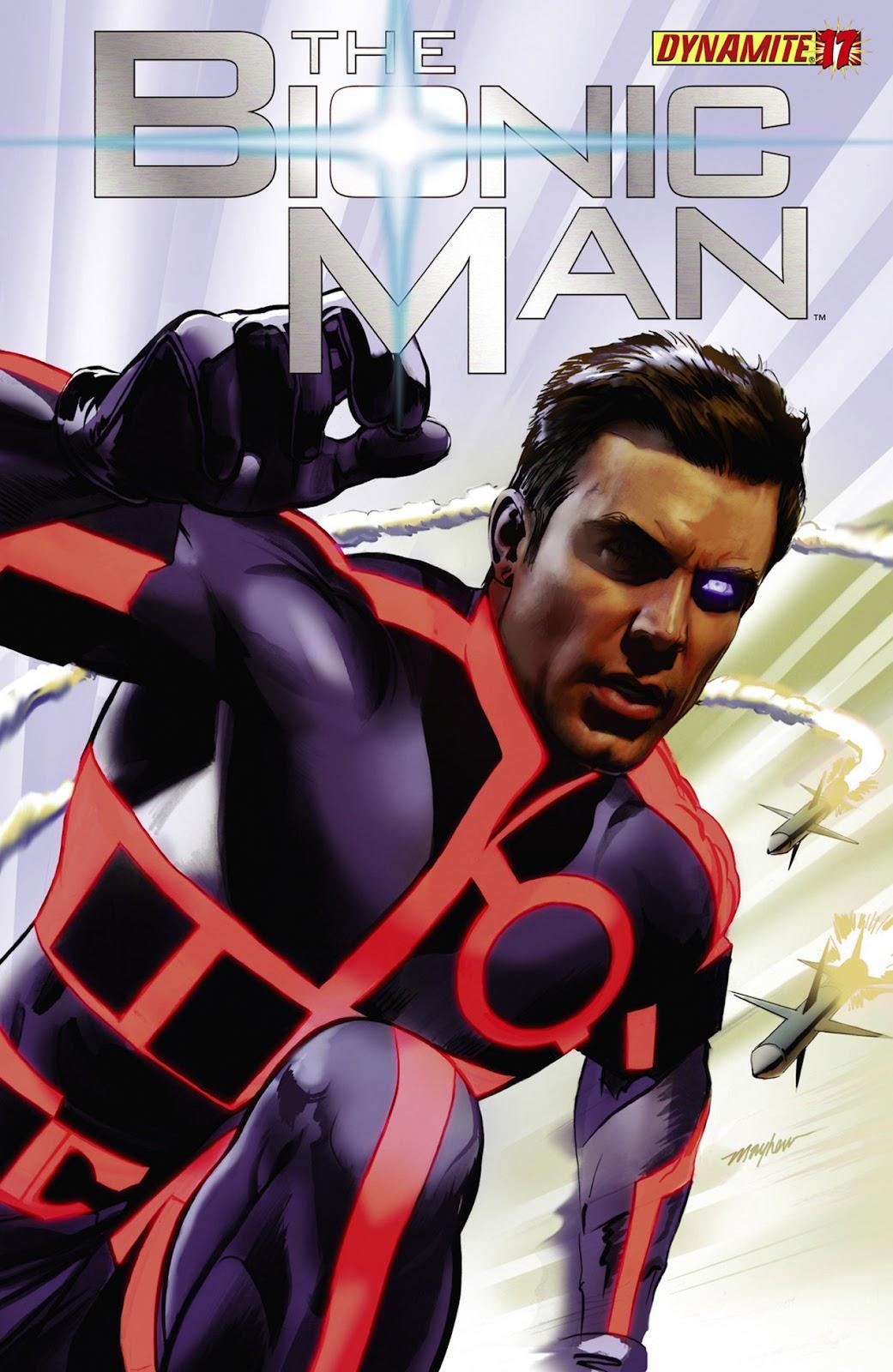 Bionic Man 17 Page 1