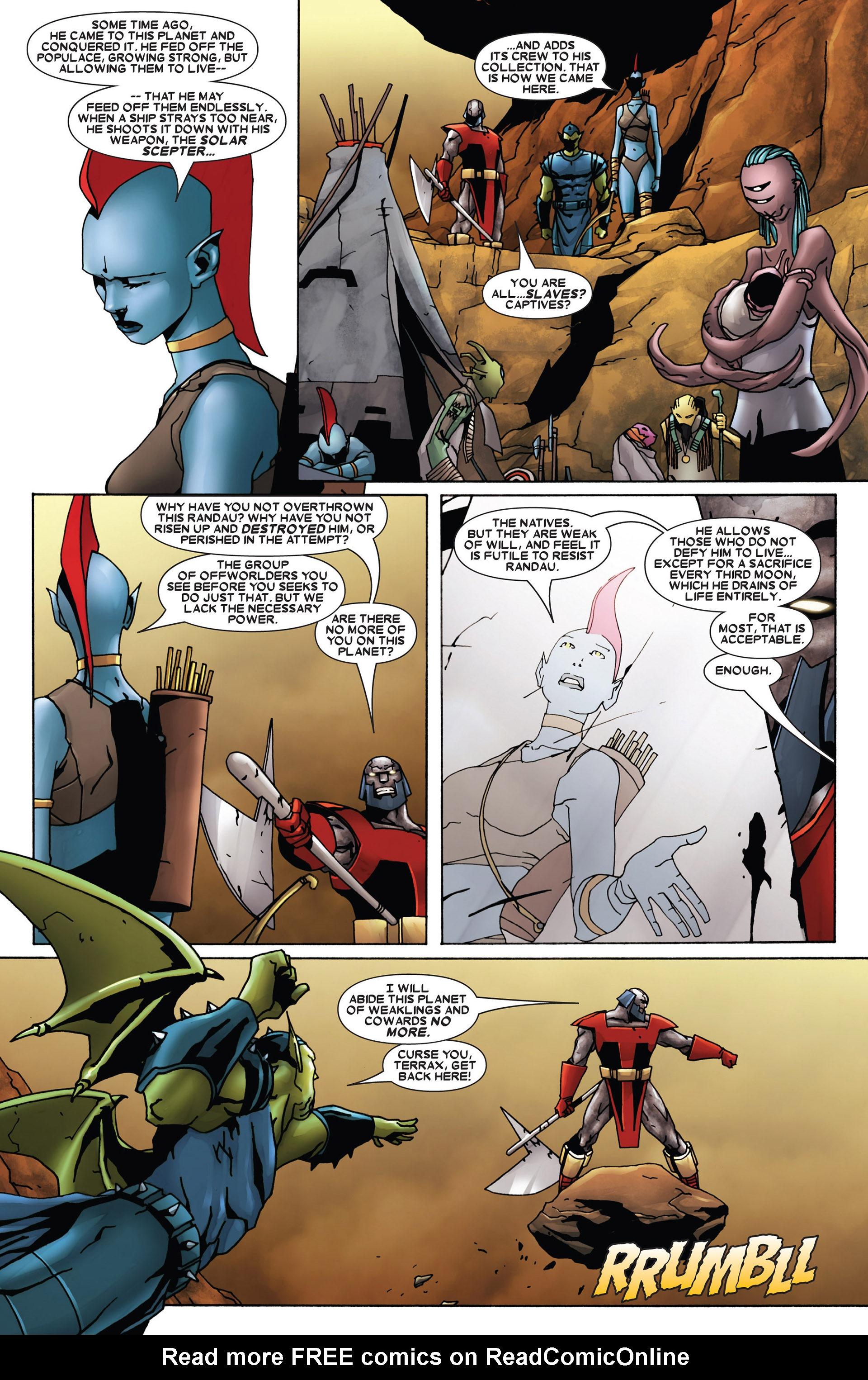Read online Annihilation: Heralds Of Galactus comic -  Issue #1 - 9