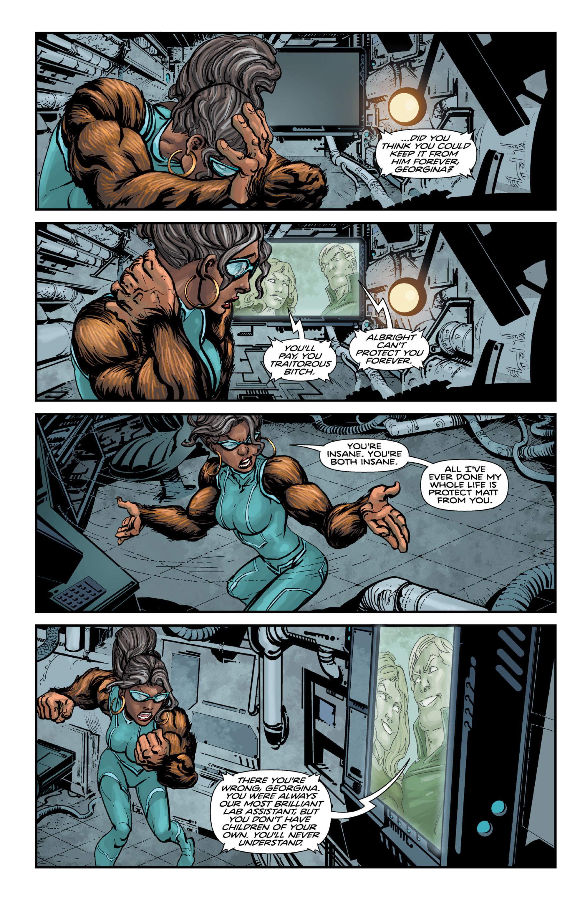 Read online Brain Boy:  The Men from G.E.S.T.A.L.T. comic -  Issue # TPB - 100