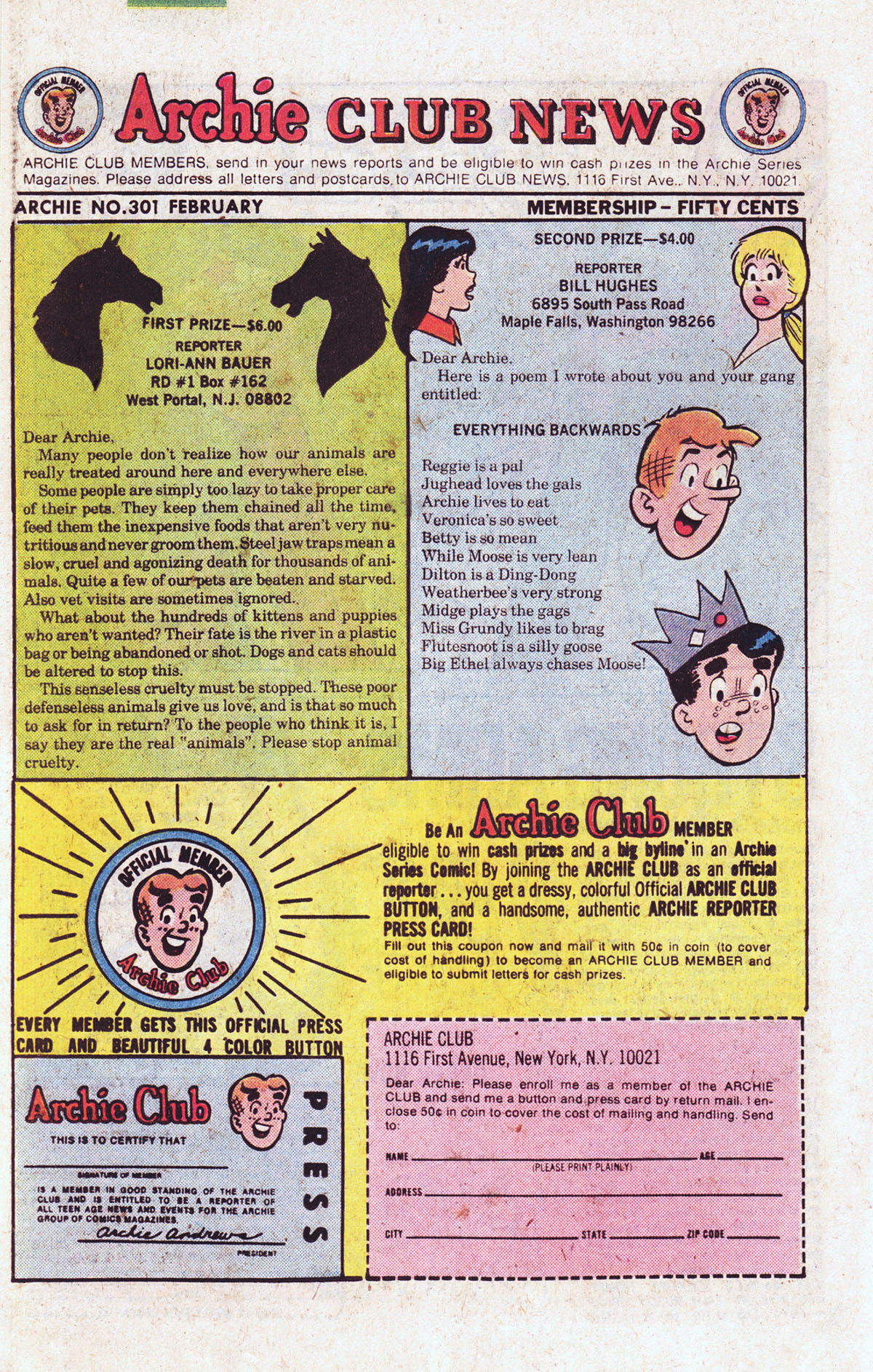 Read online Archie (1960) comic -  Issue #301 - 26