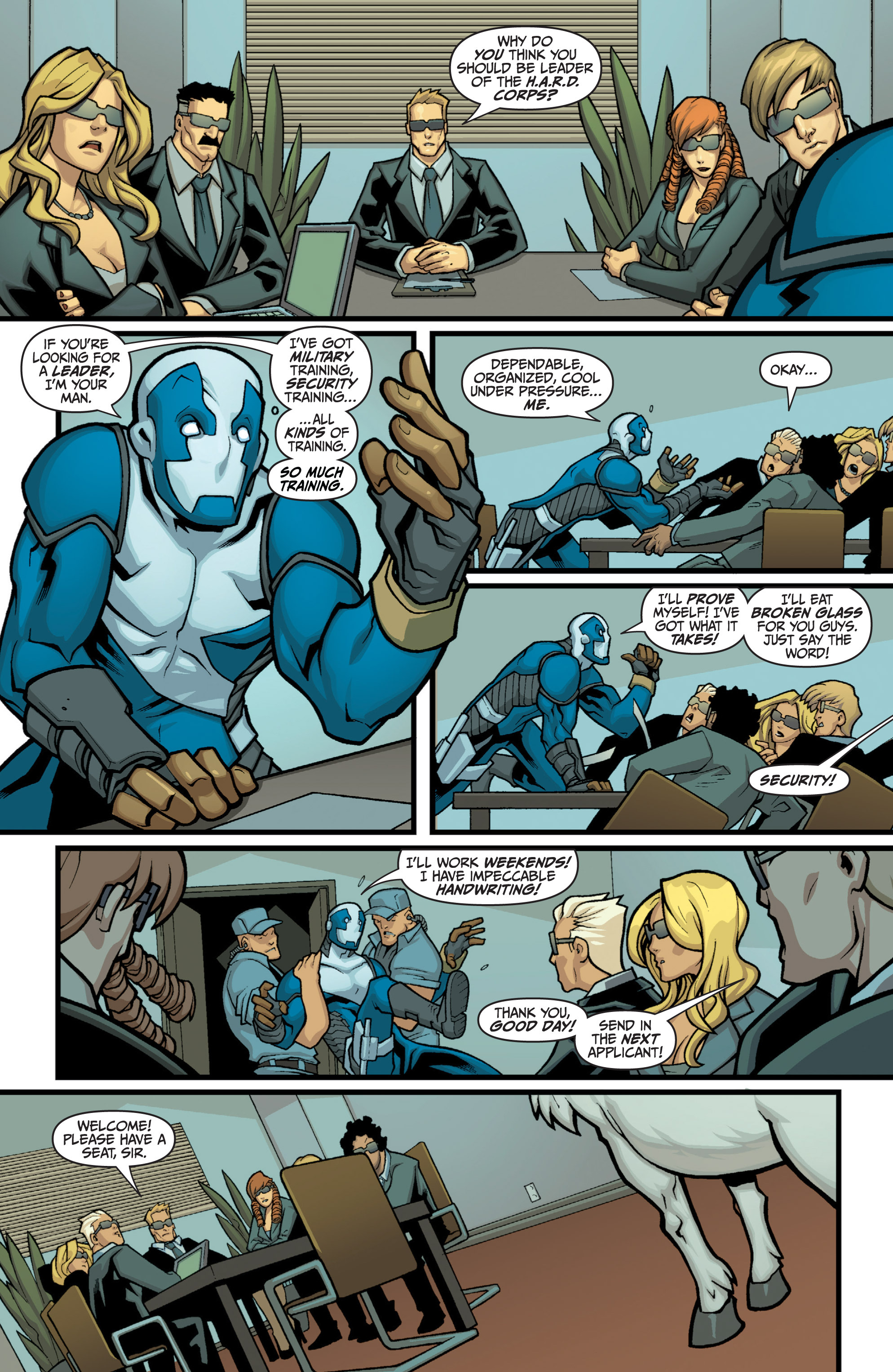 Read online Bloodshot and H.A.R.D.Corps comic -  Issue # TPB 4 - 133