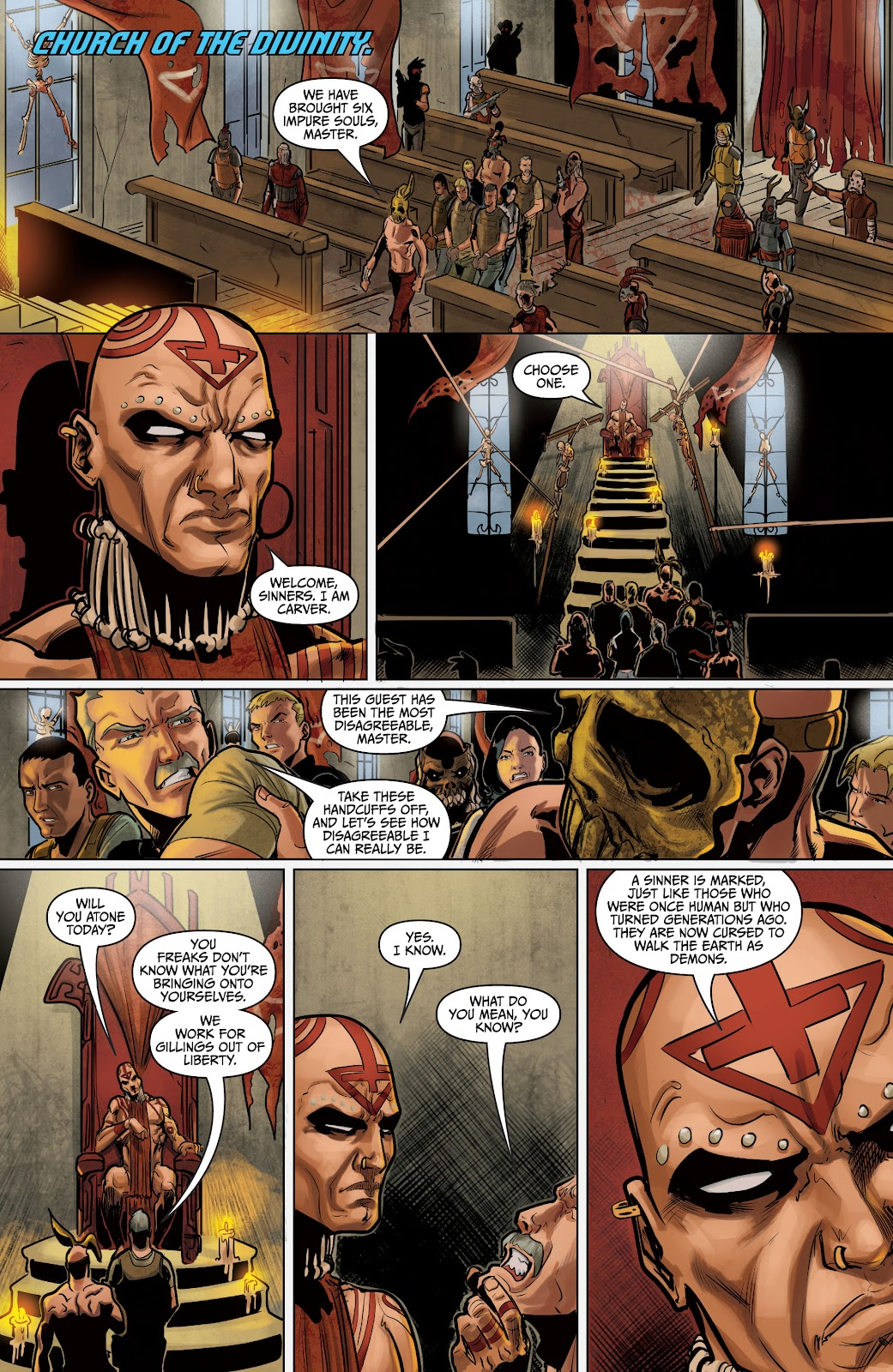 The Courier: Liberty & Death issue 2 - Page 19