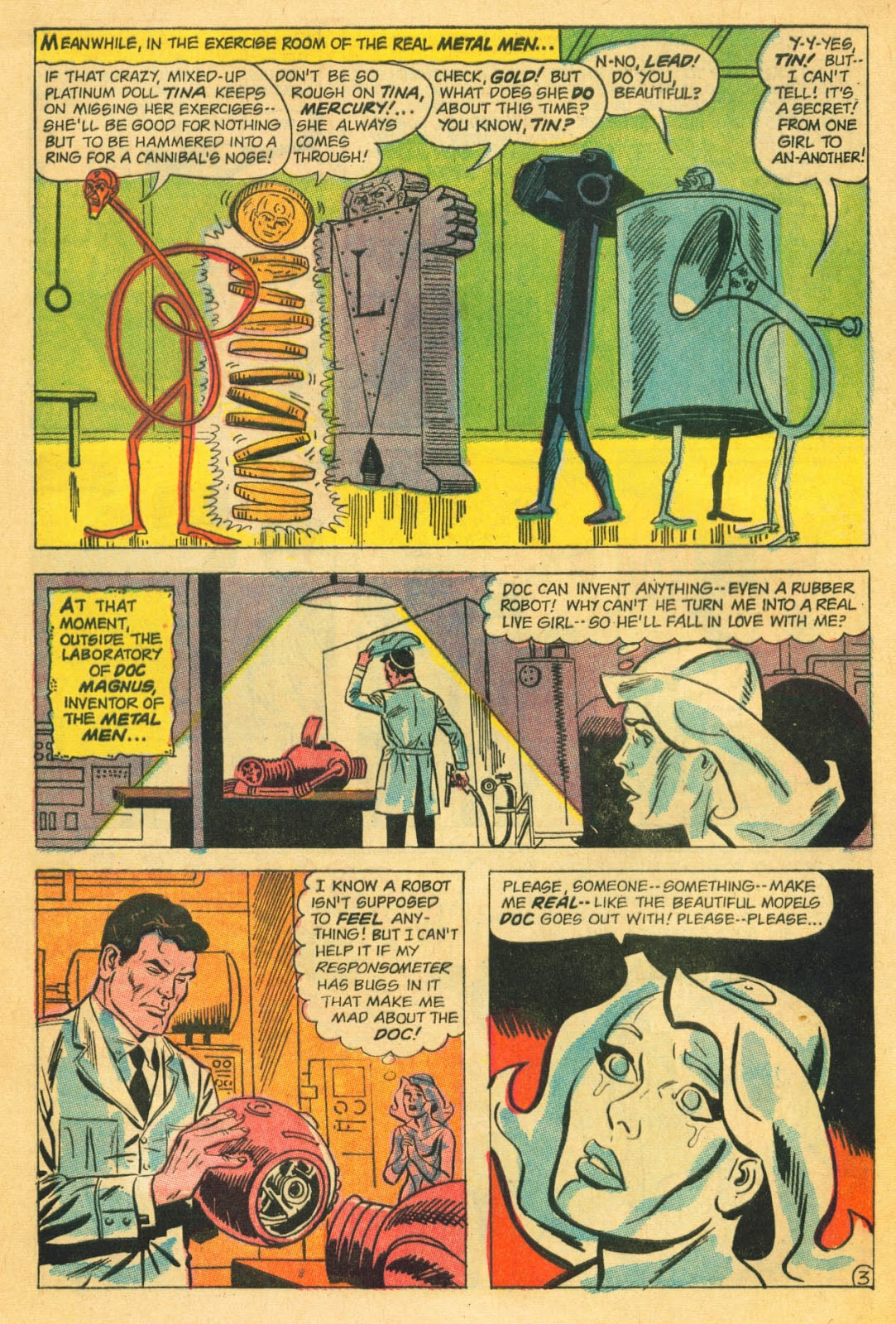 Metal Men (1963) issue 22 - Page 5