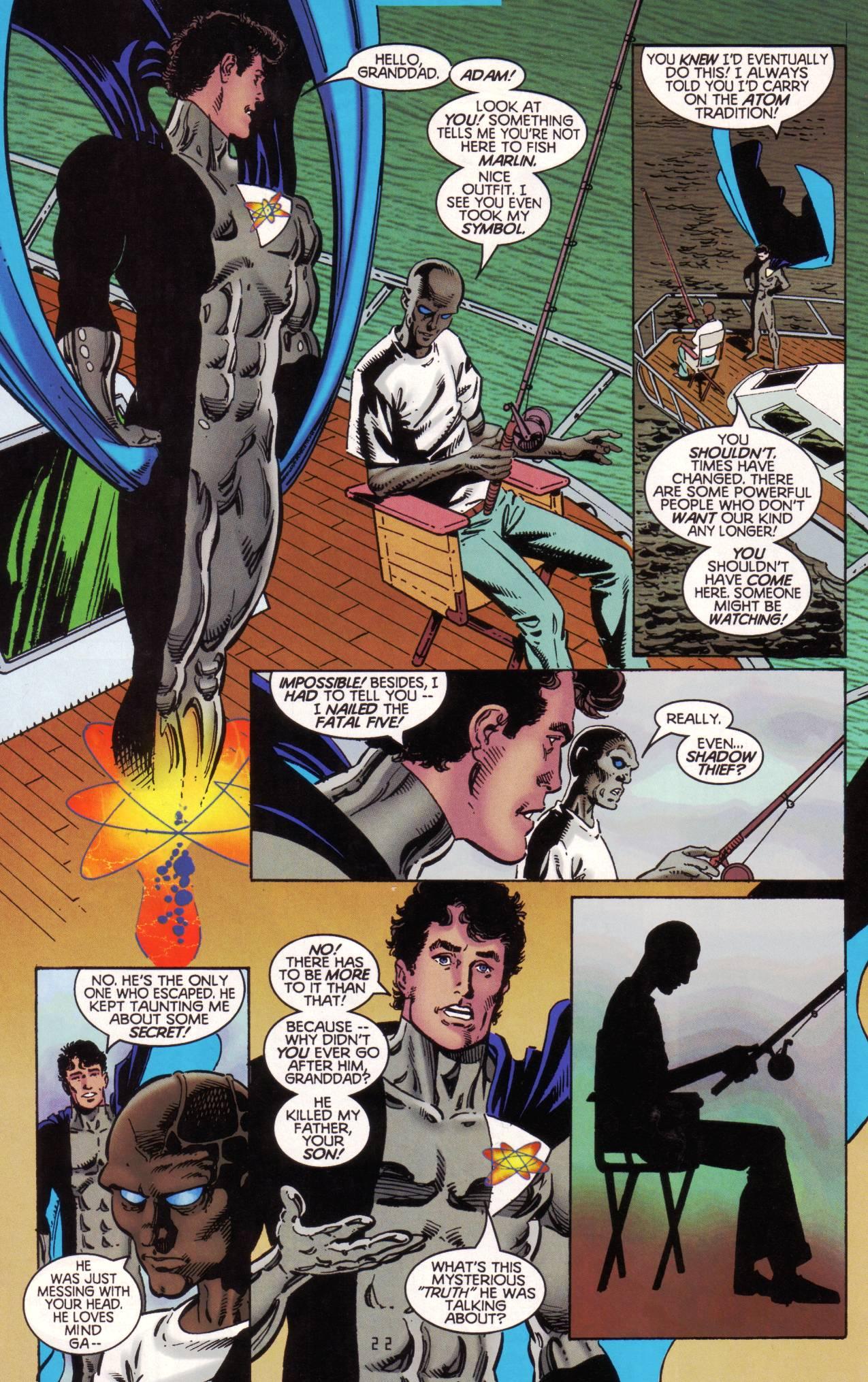 Read online Tangent Comics/ The Atom comic -  Issue # Full - 23