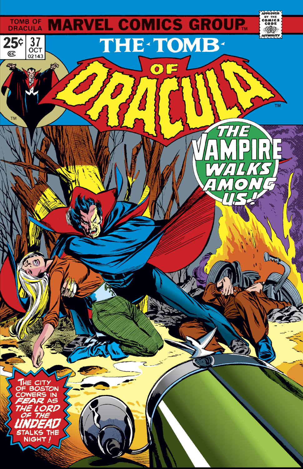 Tomb of Dracula (1972) issue 37 - Page 1